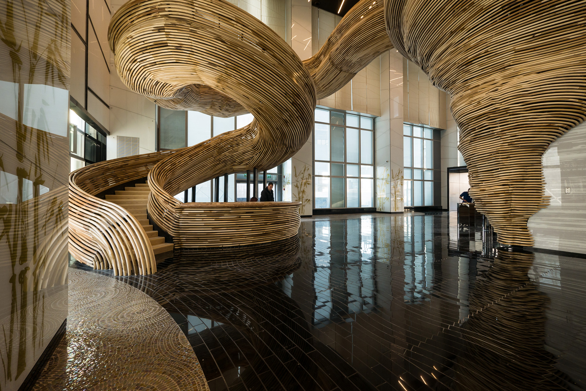 La scala organica, Oded Halaf © Itay Sikolski