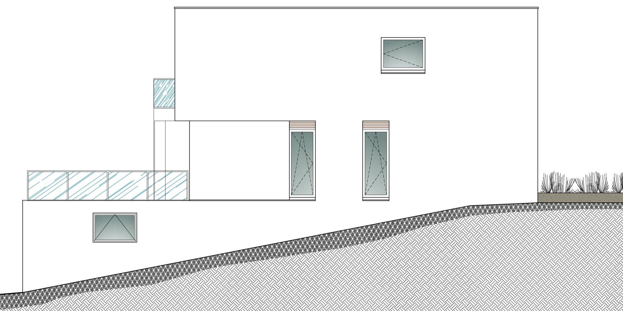 Prospetto nord-est © Damilanostudio Architects
