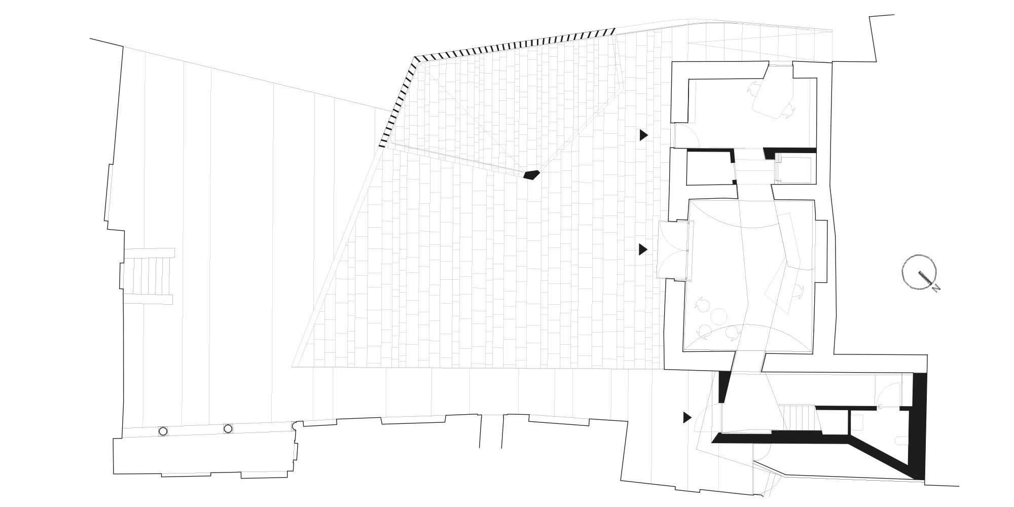 pianta piano terra  © CN10 Architetti