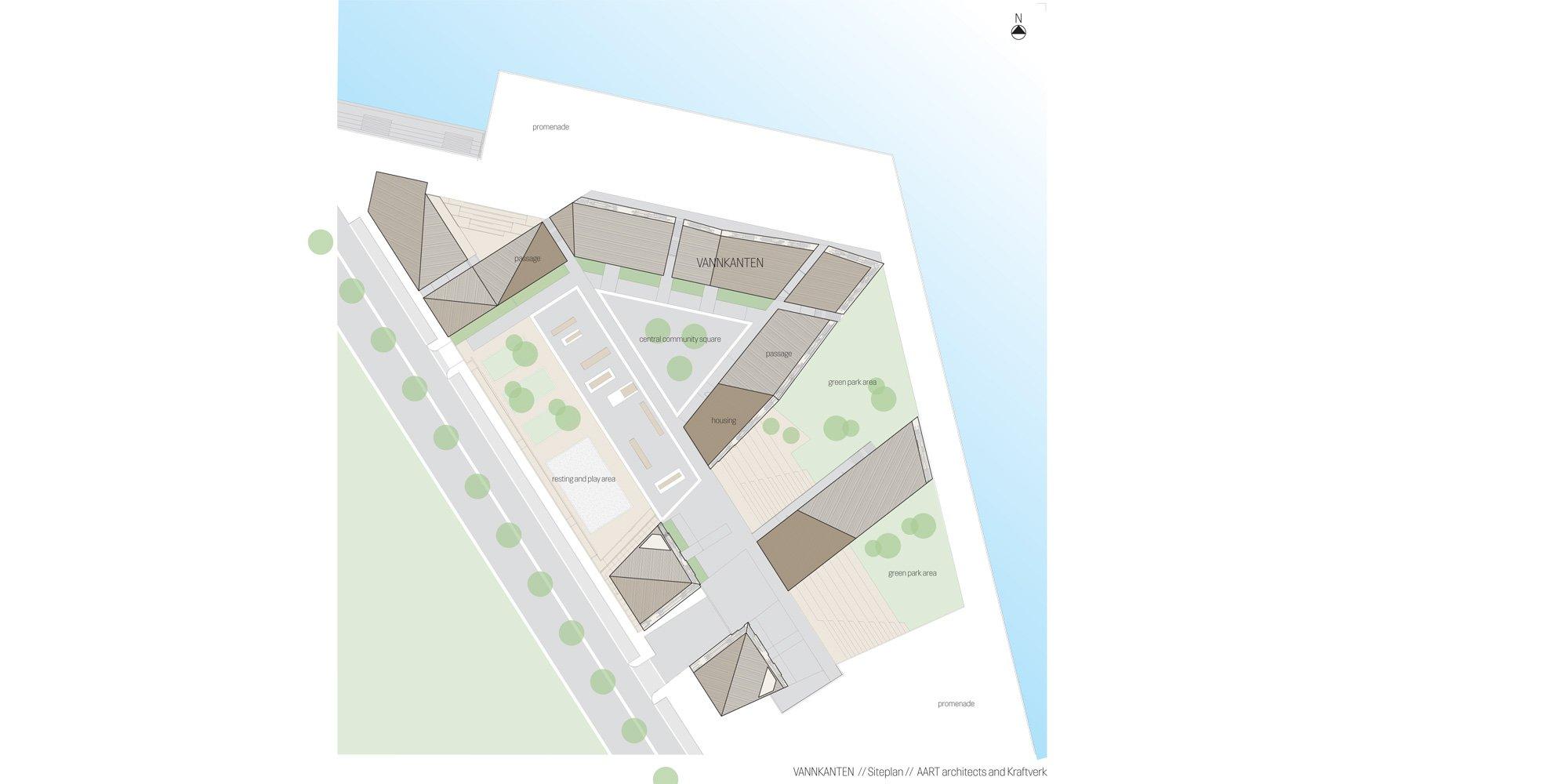 Planimetria © AART architects
