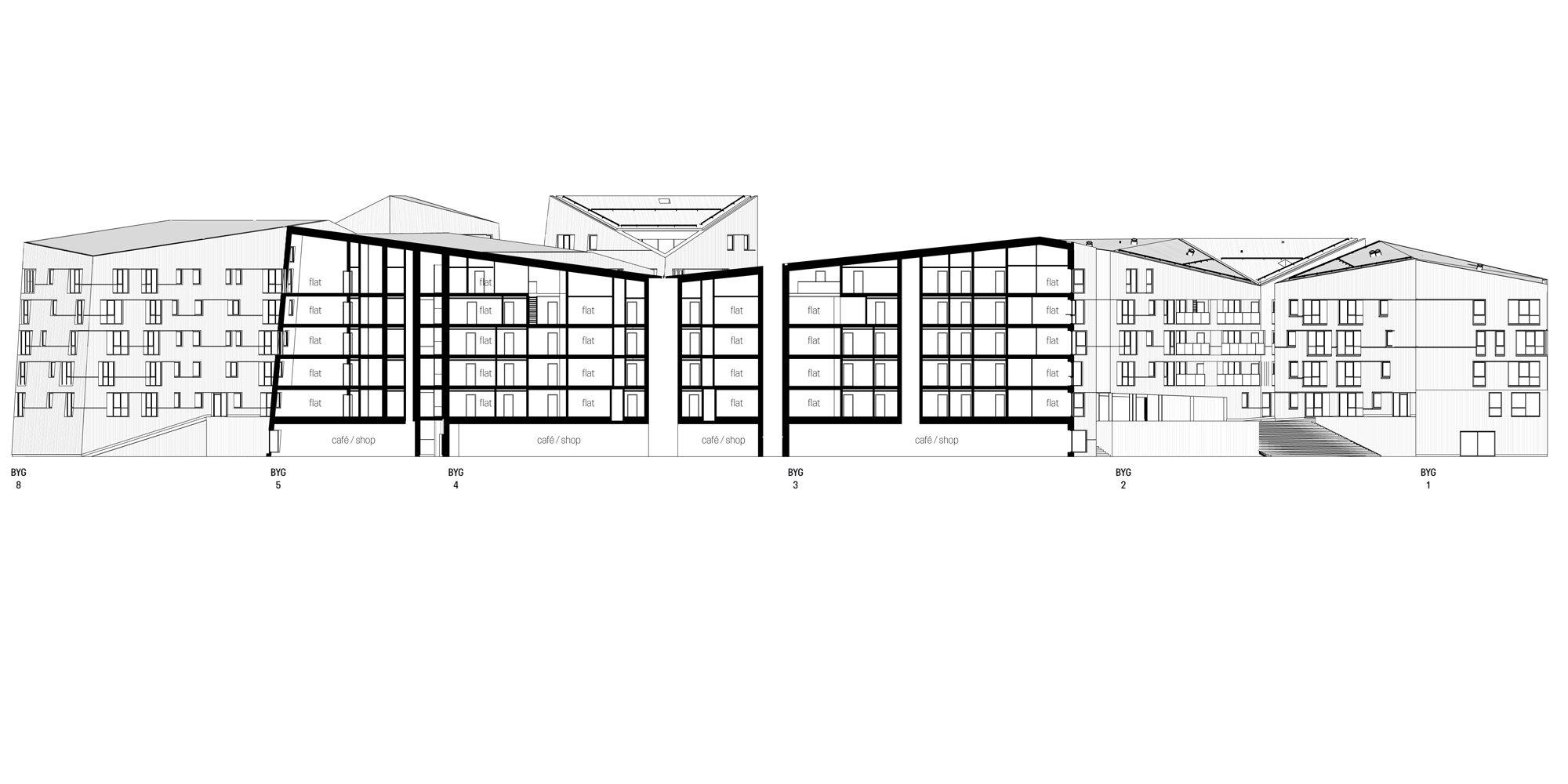 Sezione AA © AART architects