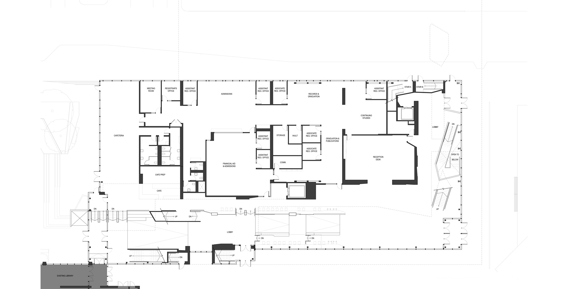1st level plan © Teeple Architects