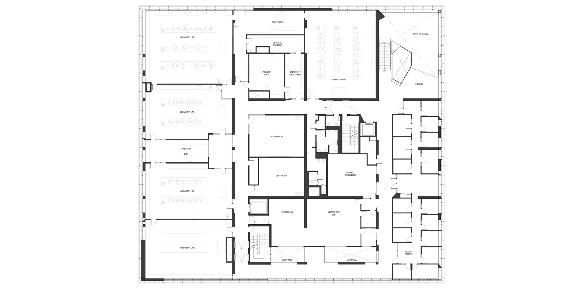 5th level plan © Teeple Architects