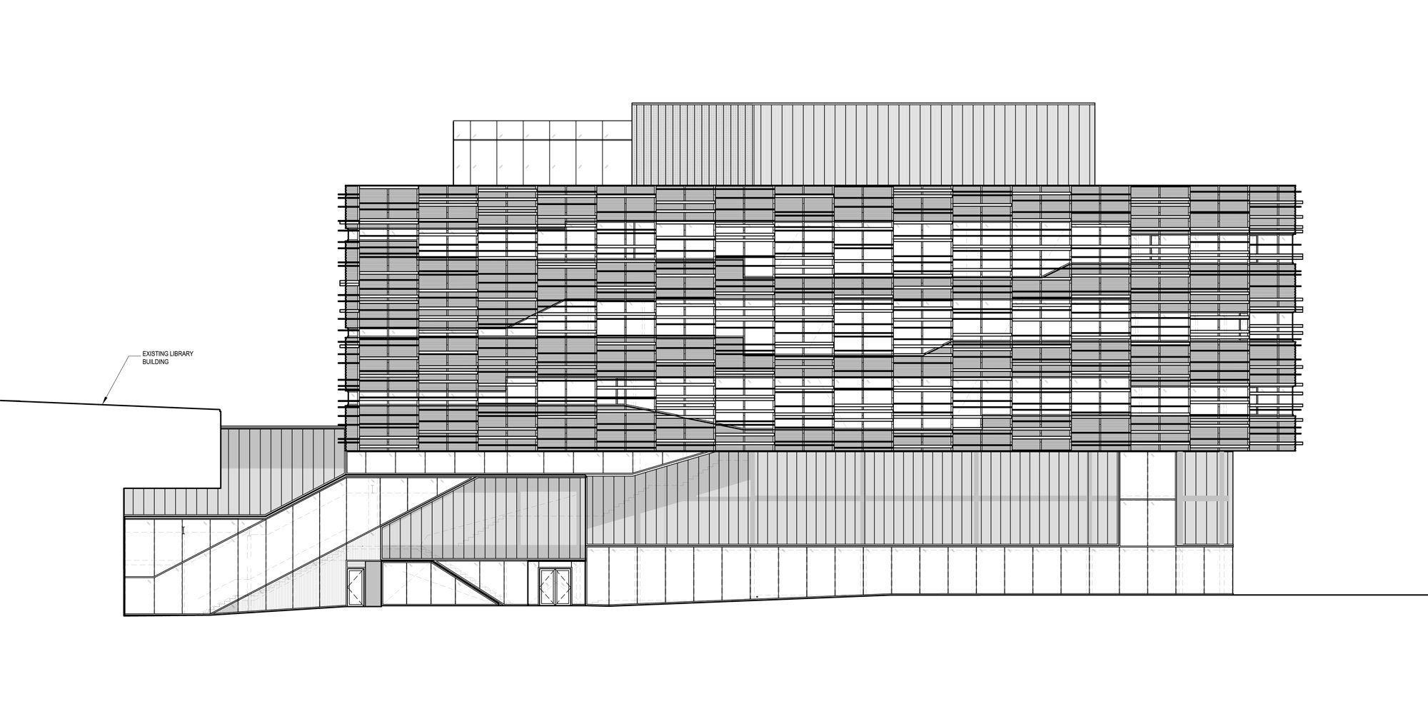 Prospetto Est © Teeple Architects