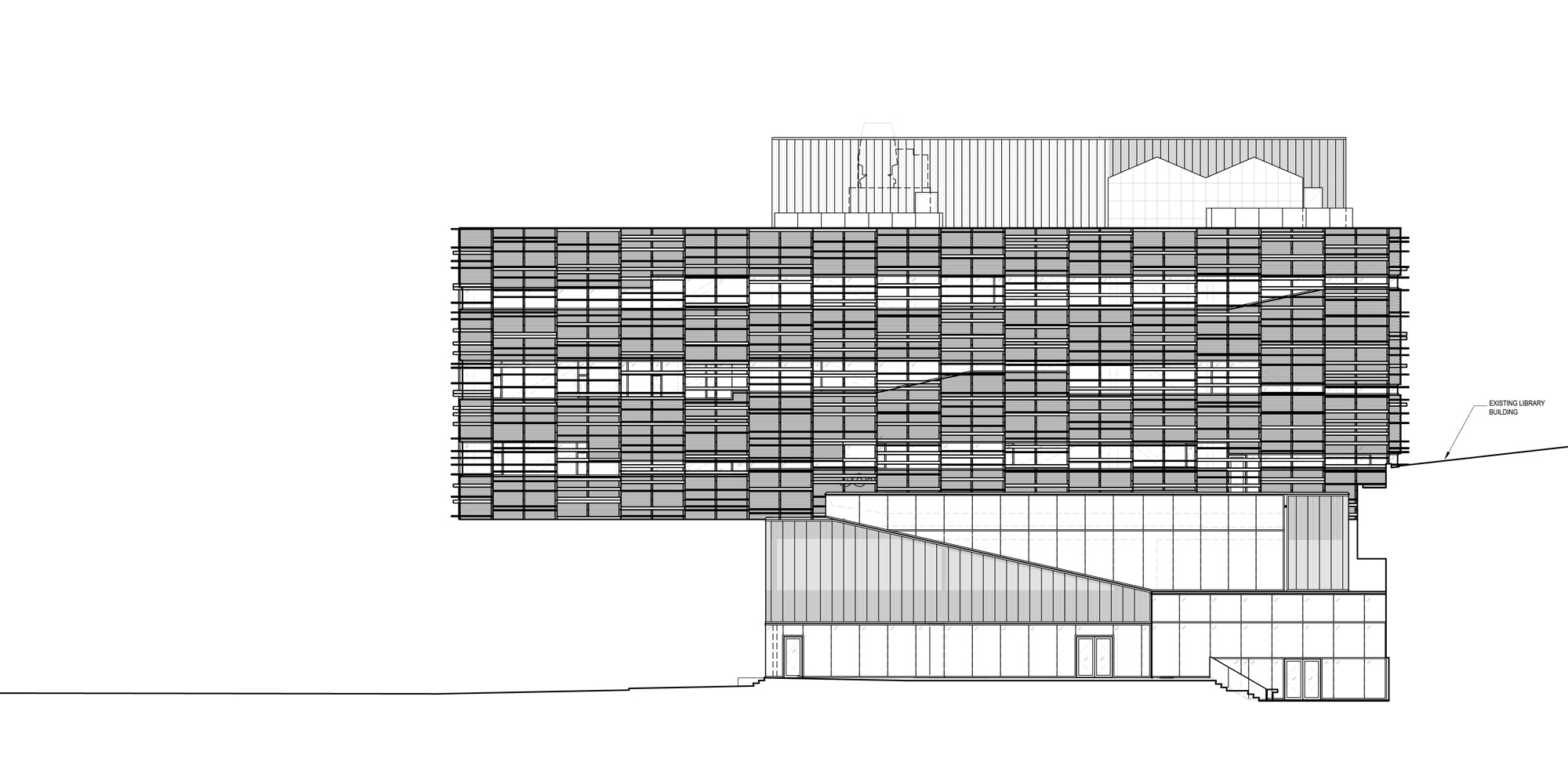 South Elevation © Teeple Architects
