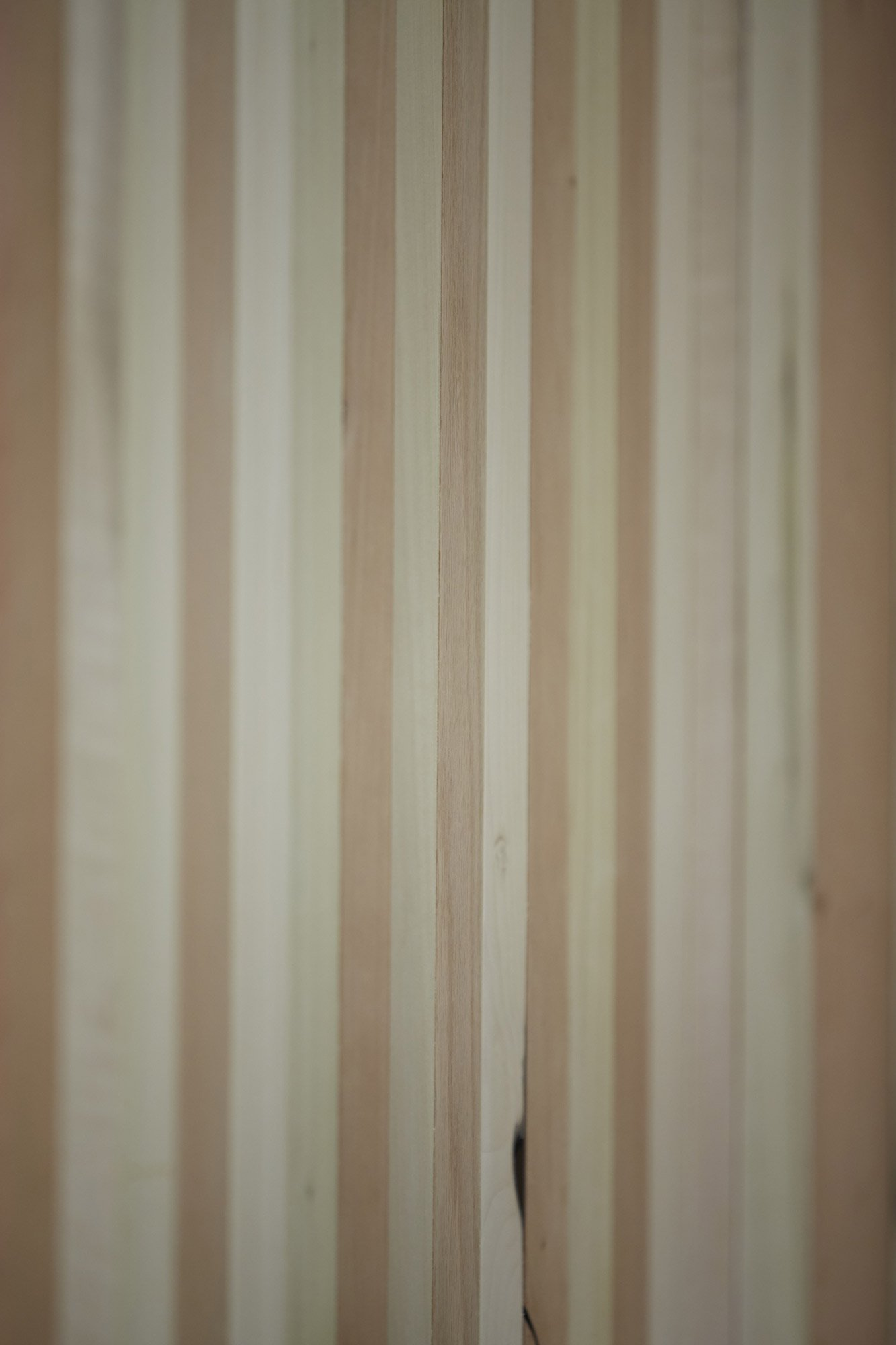 Too Good To Waste: Smoothly finished American tulipwood, cherry, maple and red oak © Jon Cardwel