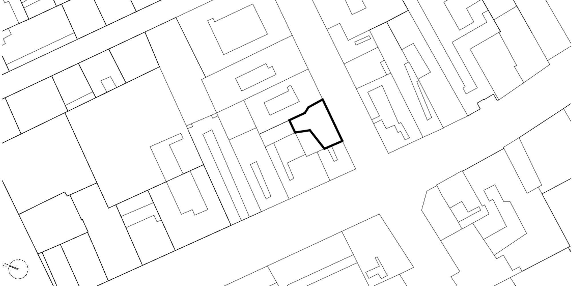 Planimetria © Avenier Cornejo Architectes