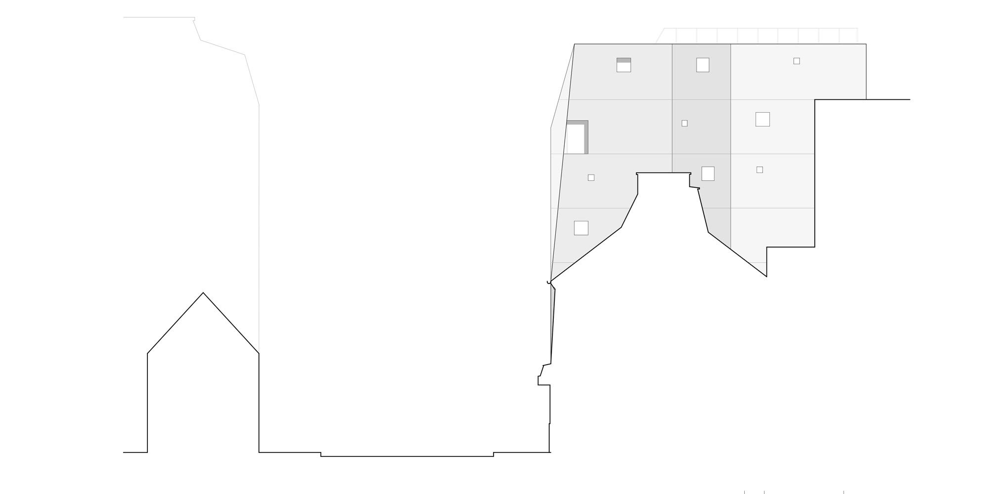 Prospetto Nord-Ovest © Avenier Cornejo Architectes