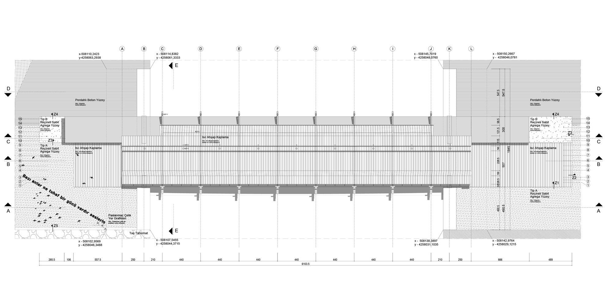 Pianta © Studio Evren Başbuğ Architects