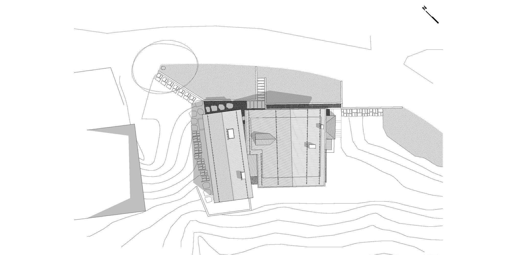 Roof plan © Clinicaurbana