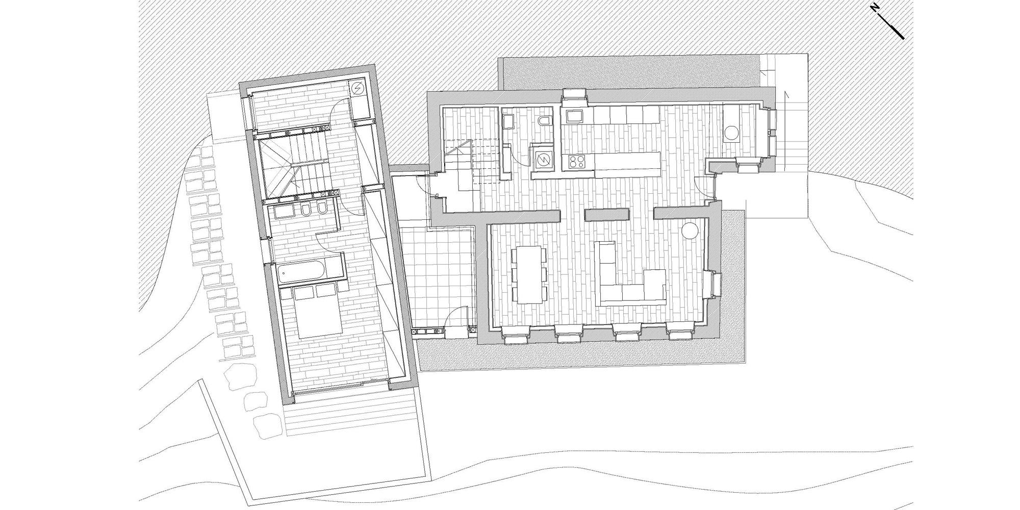 First Floor Plan © Clinicaurbana