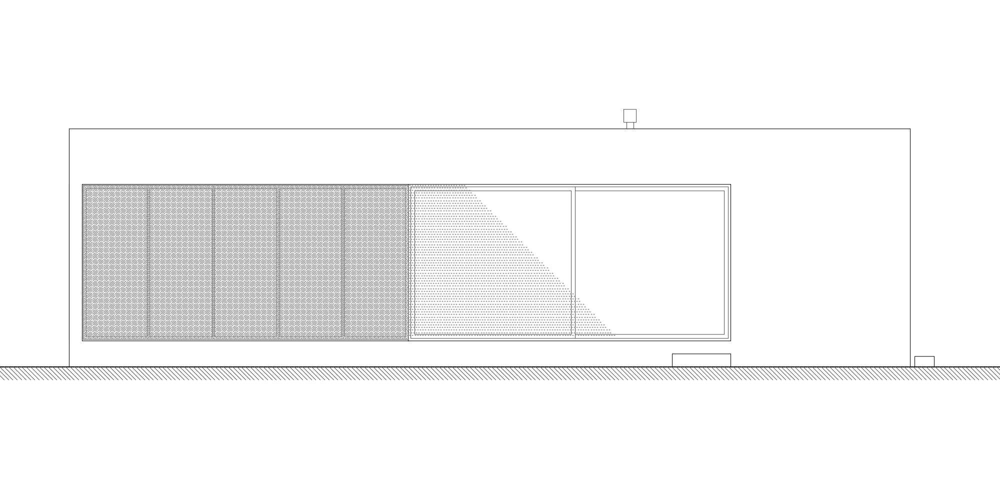 SOUTH ELEVATION © morana+rao architetti