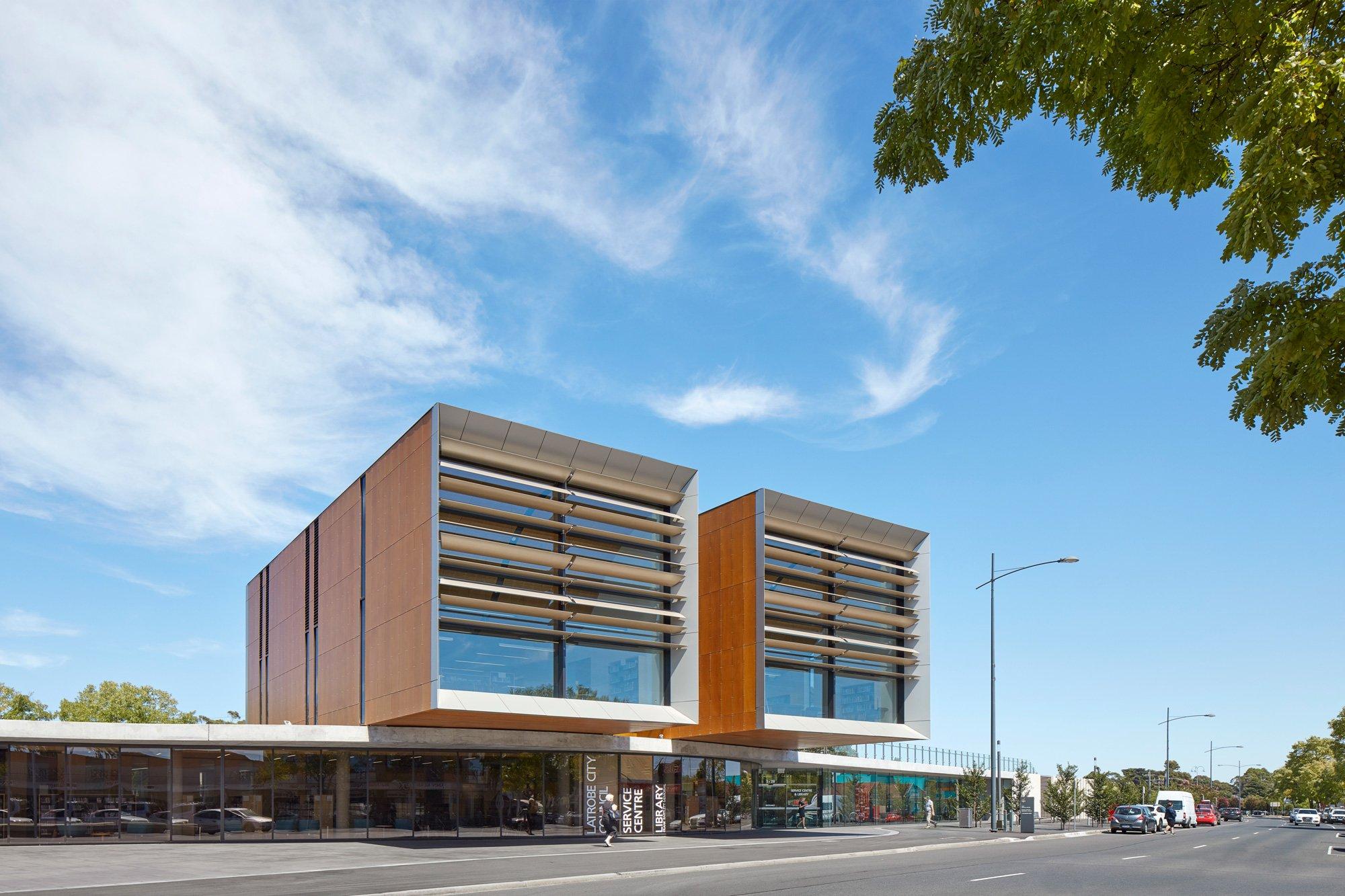 Frank Bartlett Library and Service Centre, FJMT © Nick Doolan