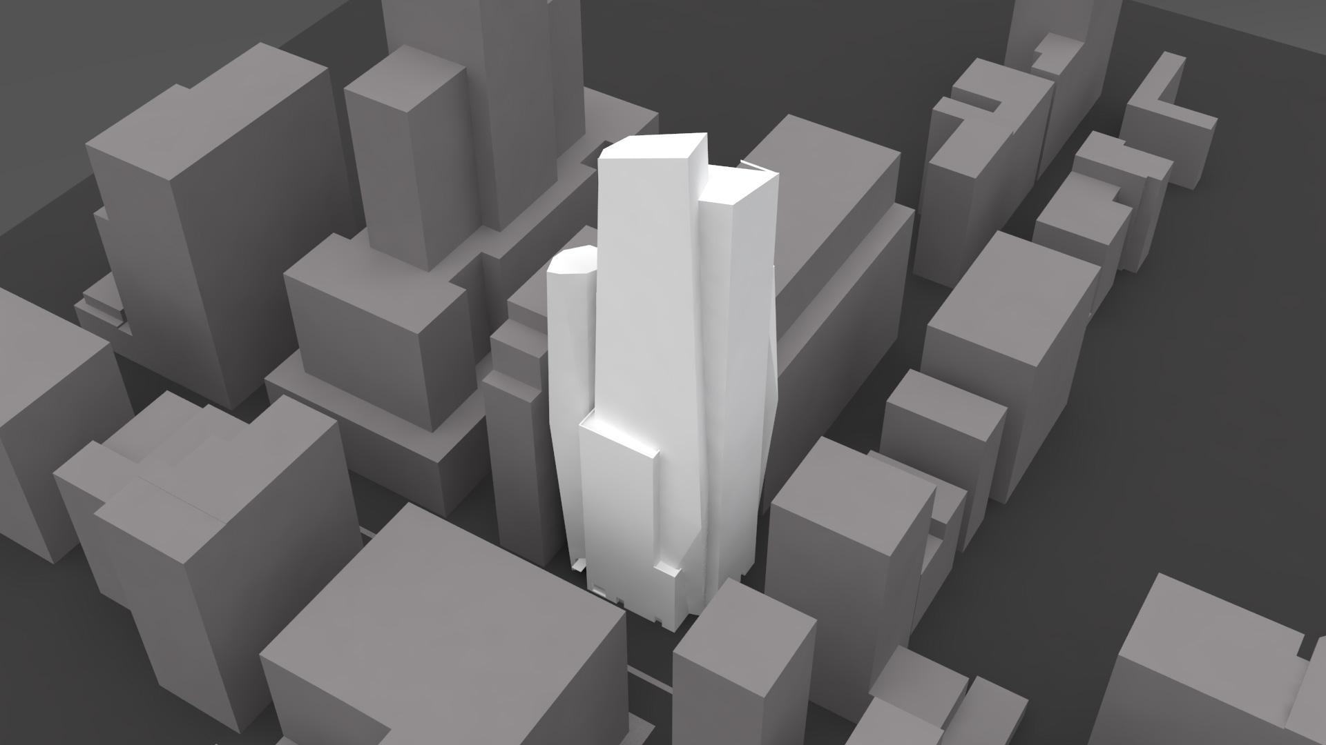 Assonometria in 3D © Christian de Portzamparc