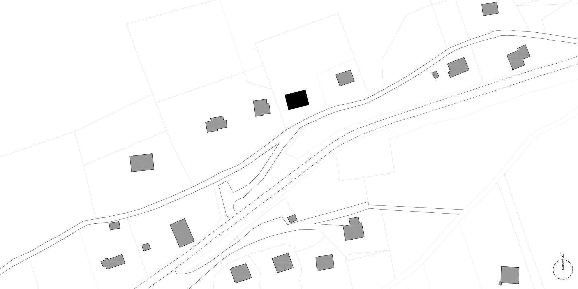 Site Plan © Studio Razavi Architecture