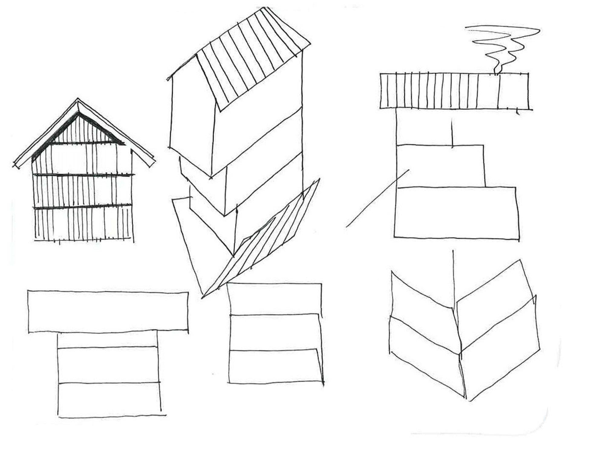 Schizzi © Studio Razavi Architecture