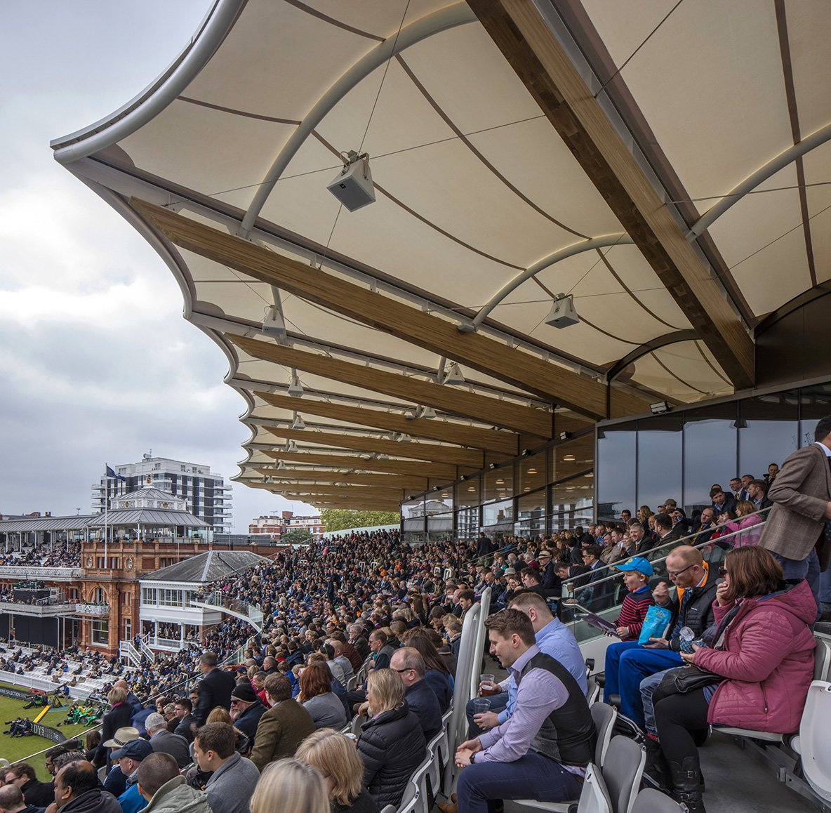 Warner Stand presso il Lord's Cricket Ground
