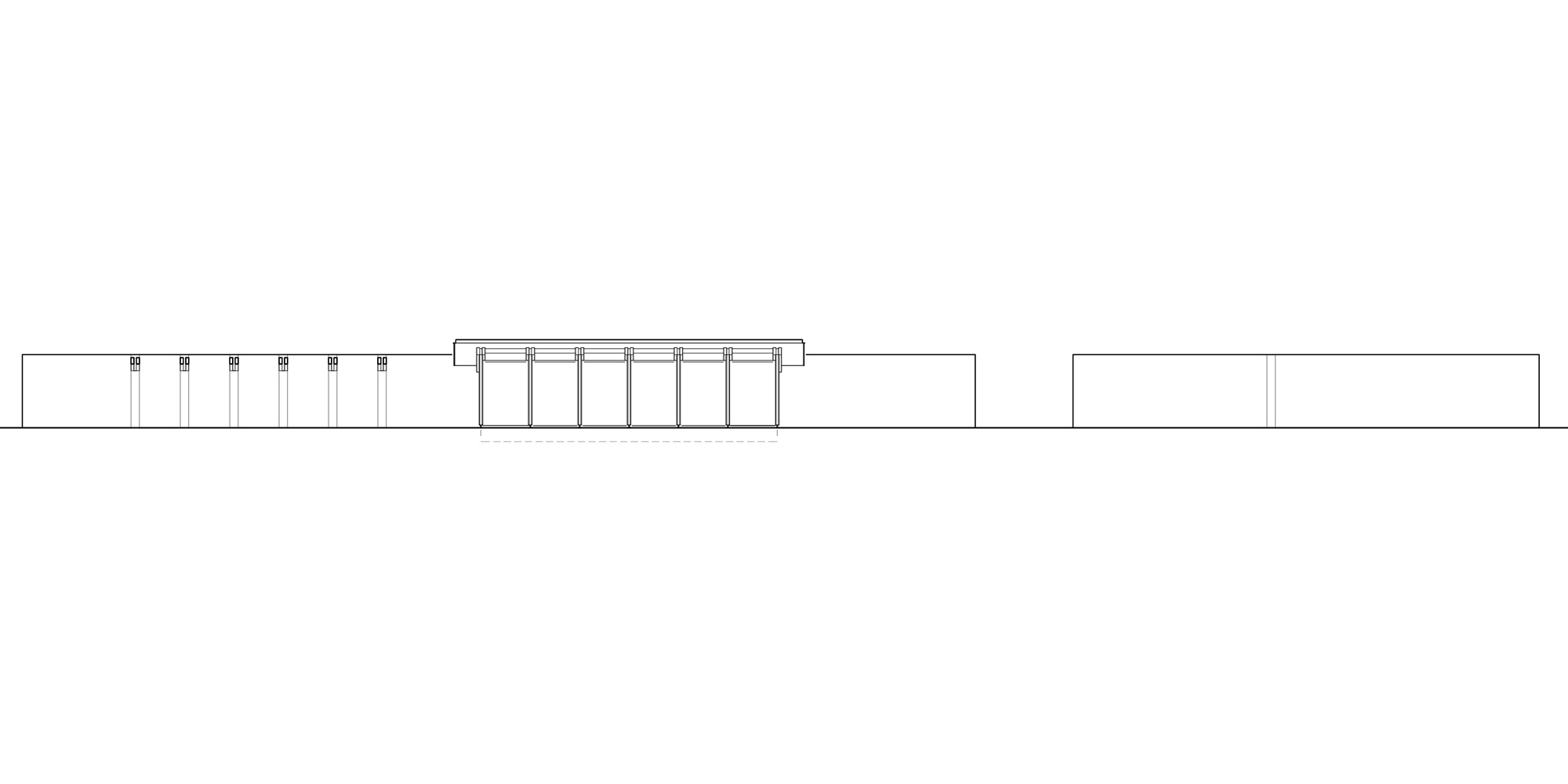 Prospetto Sud © Graham Baba Architects