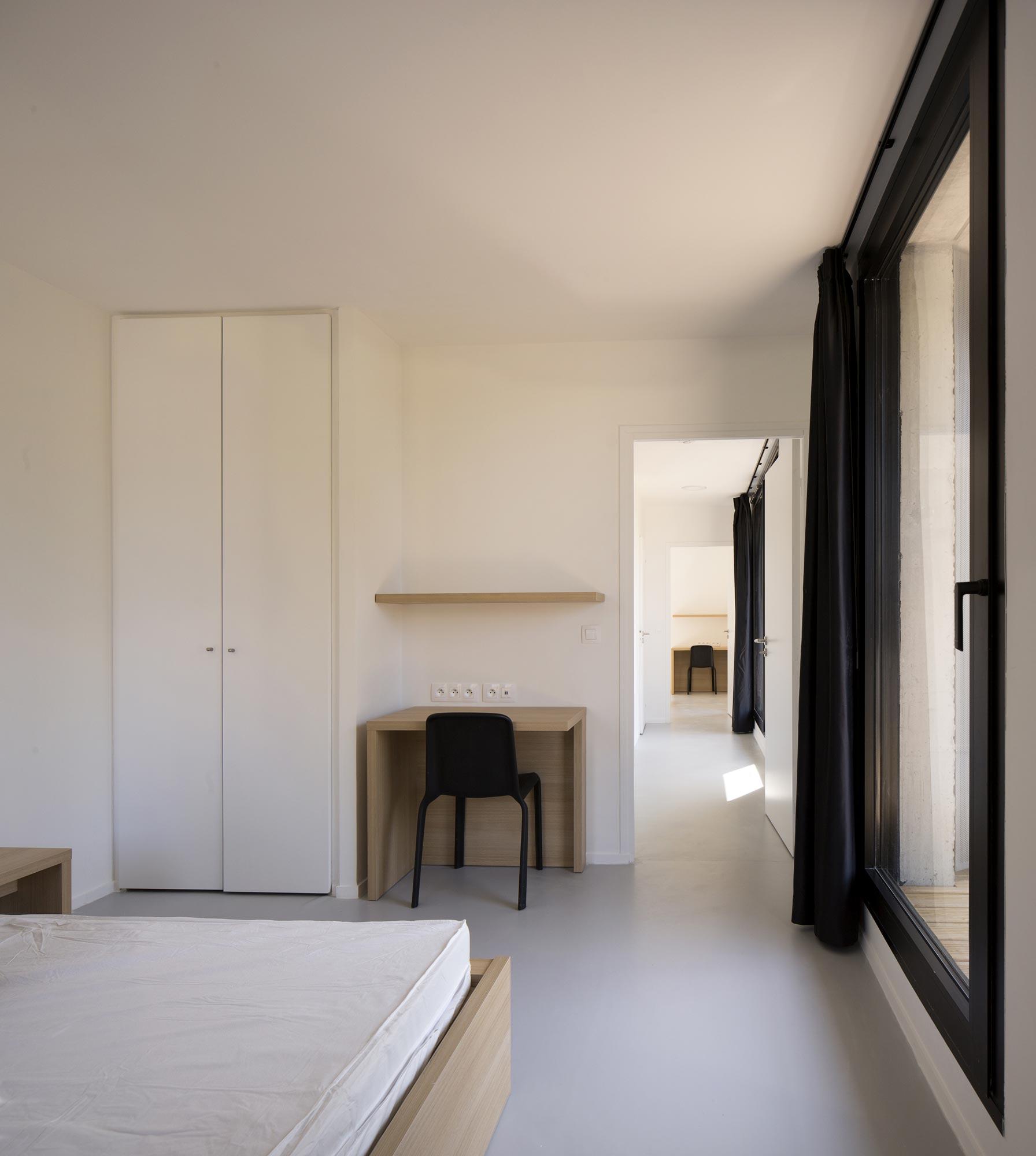 HEC STUDENT HOUSING, MARTIN DUPLANTIER ARCHITECTES © Clément Guillaume
