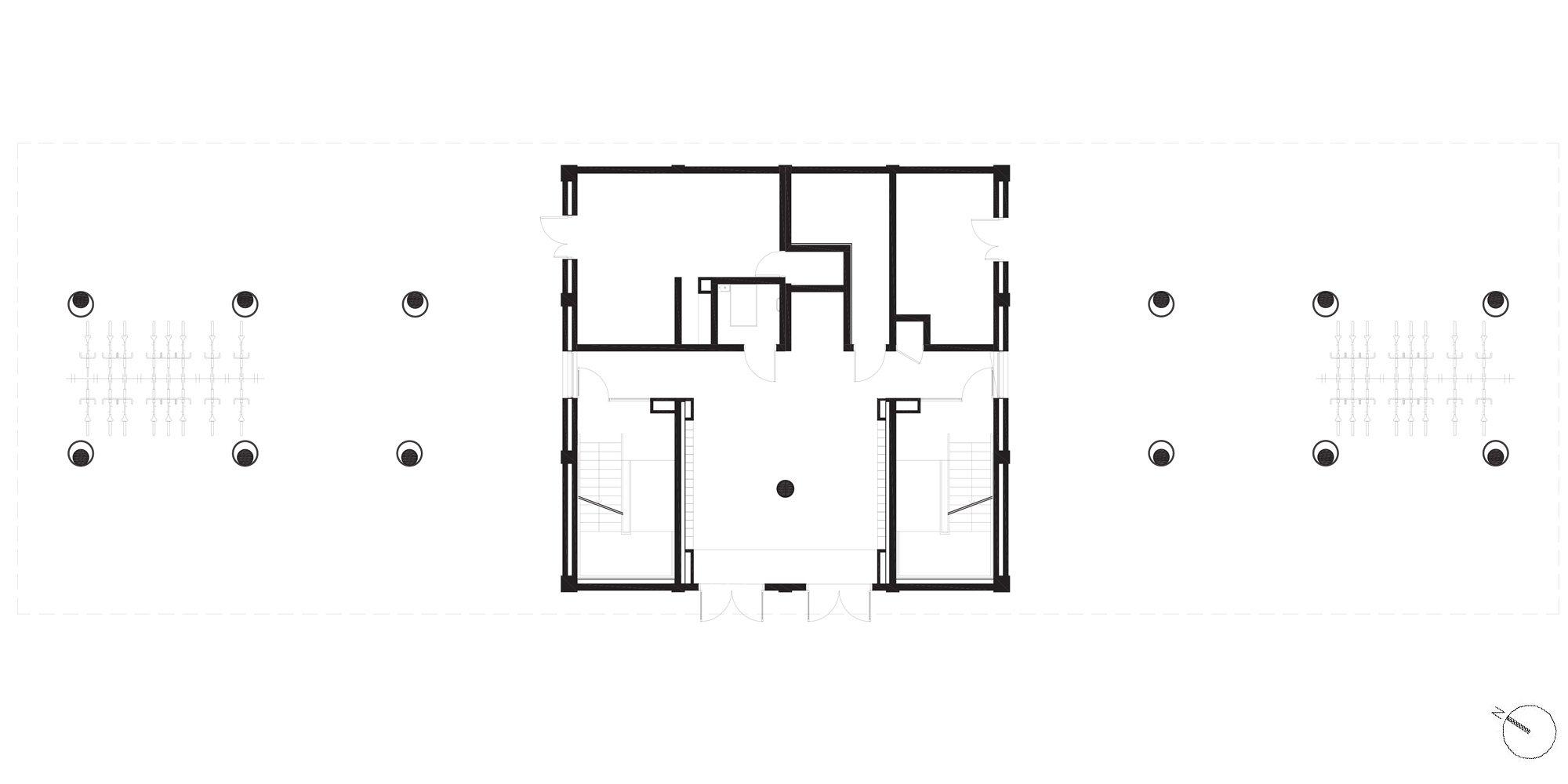 Groundfloor Plan © Martin Duplantier Architectes