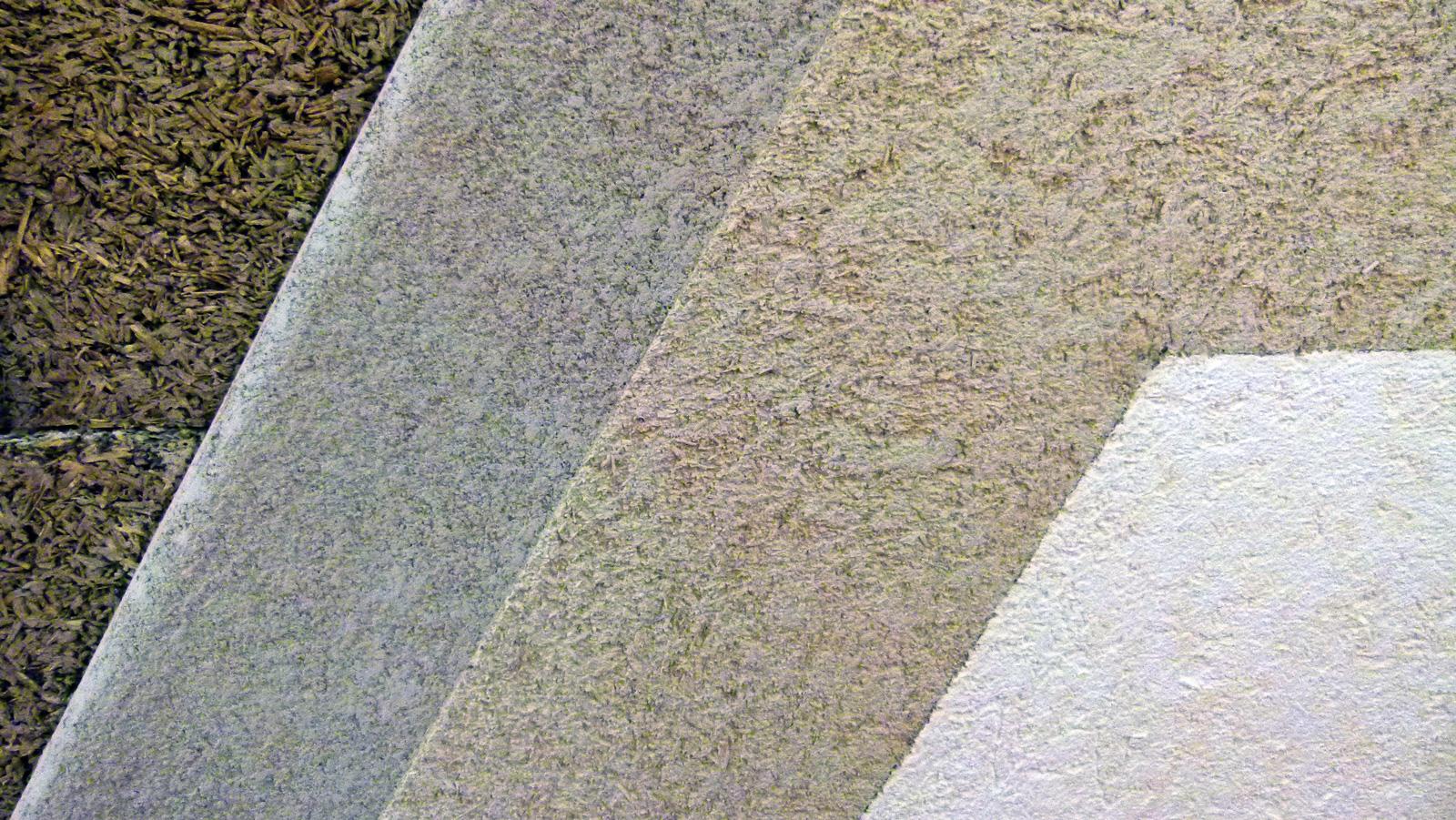 Stratigraphic view of CalceClima® Canapa hemp