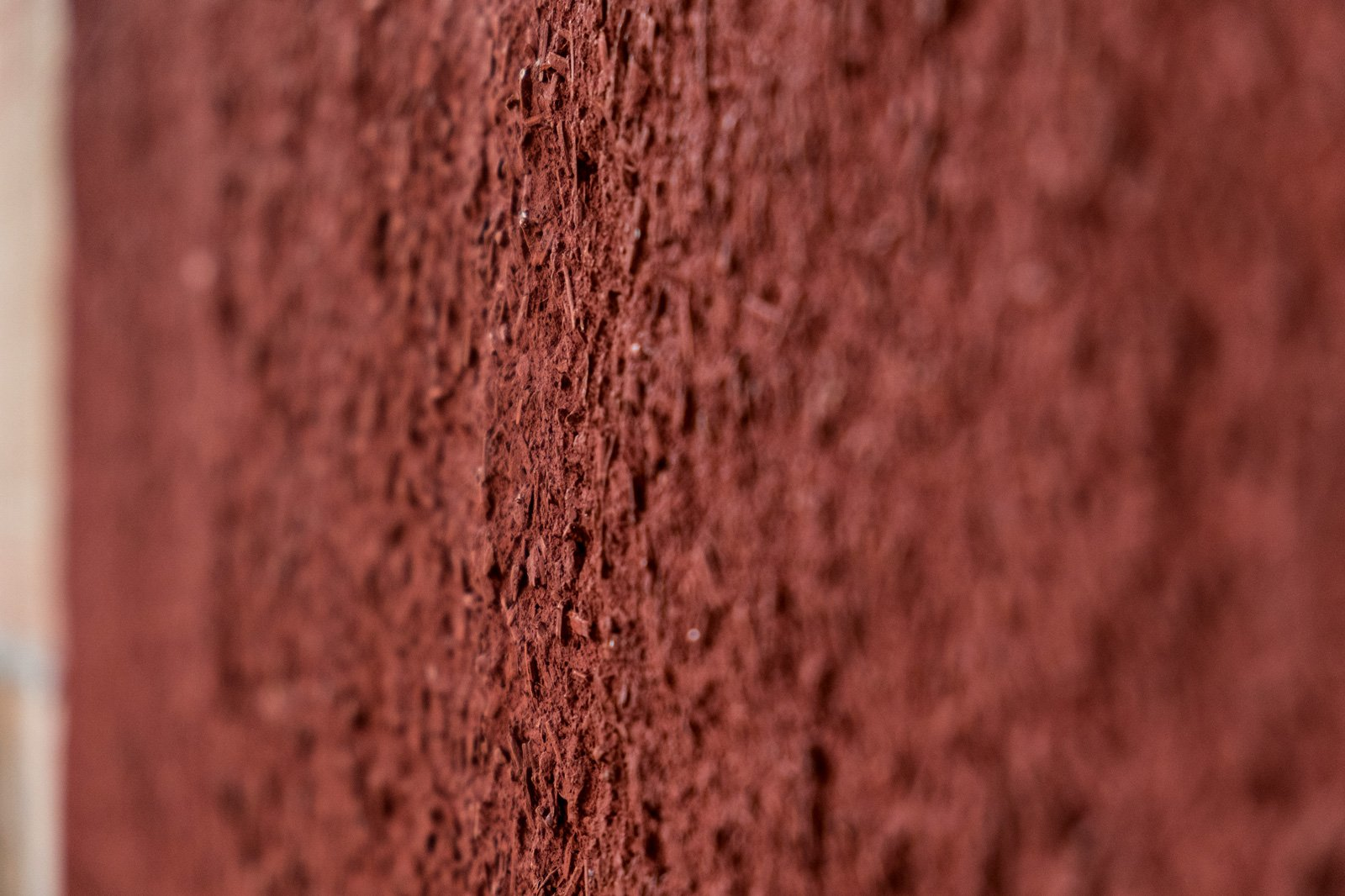 CalceClima® Canapa, with natural red finish