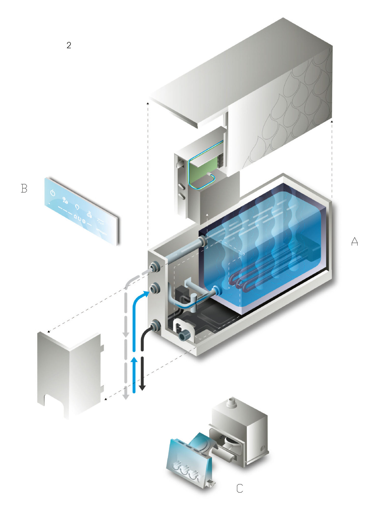 Nuvola Smart Power - Schema di funzionamento: