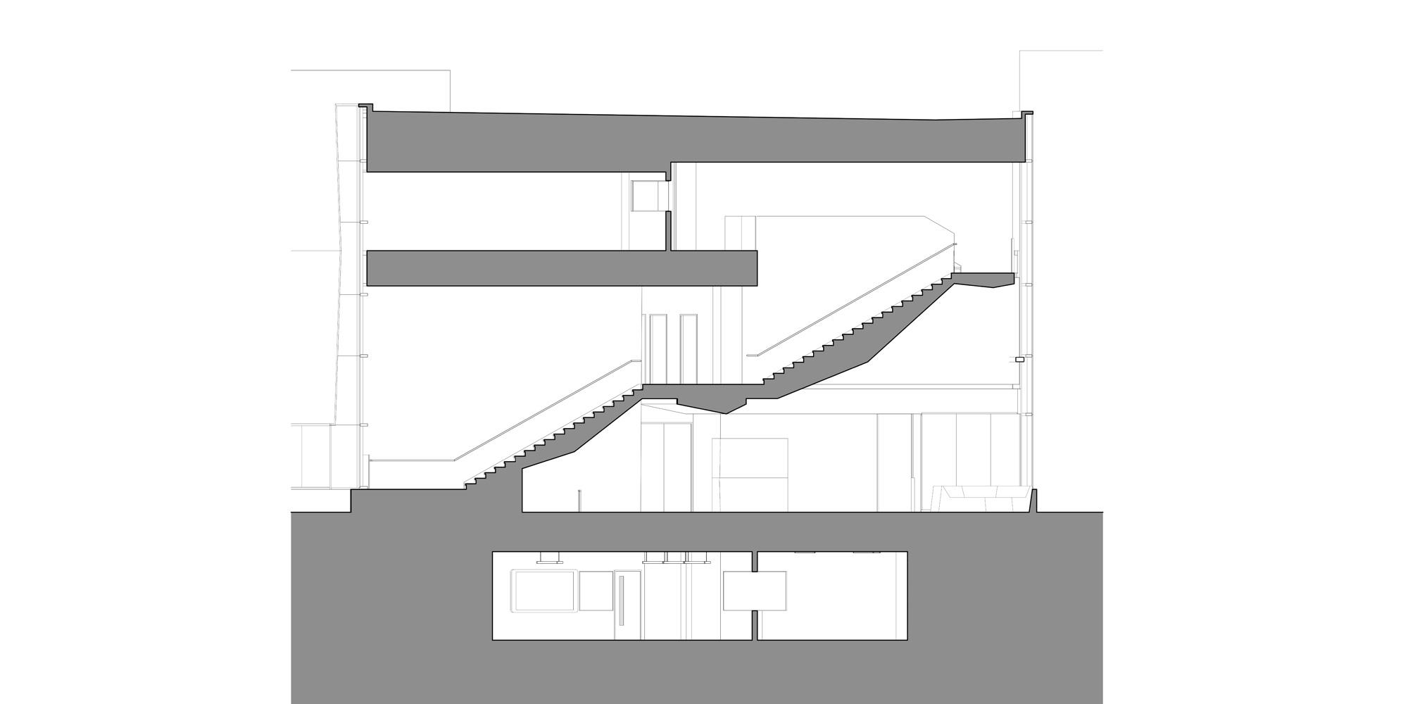 Sezione © Shinberg.Levinas Architects