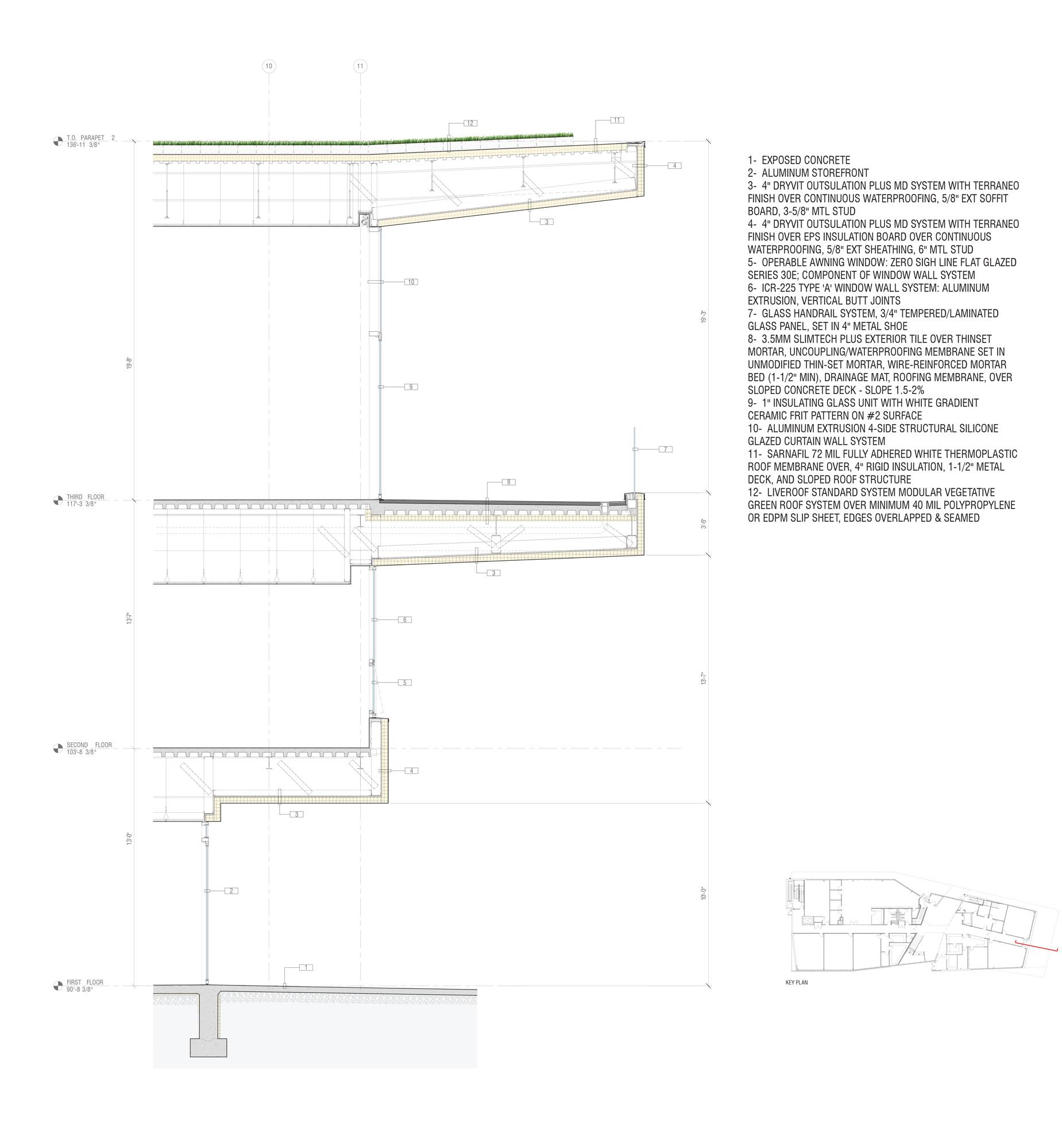 Dettaglio facciata © Shinberg.Levinas Architects