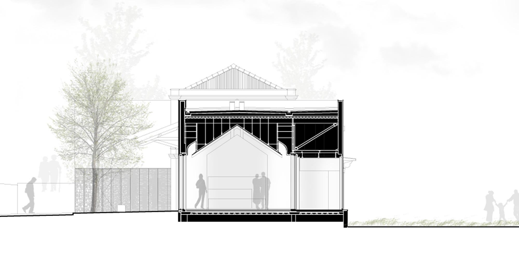 CC Section © CVDB Arquitectos Associados