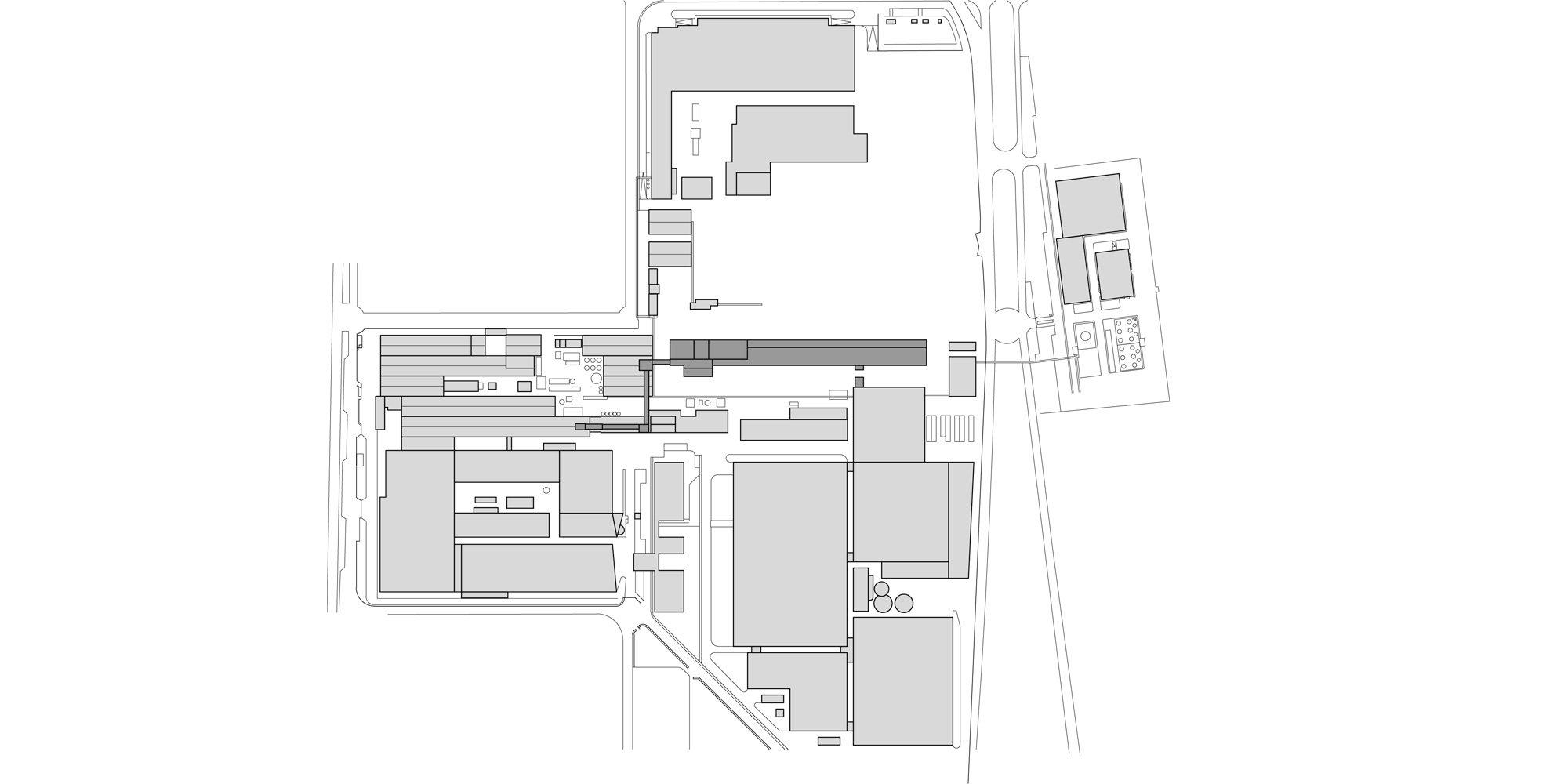 Planimetria © Valle Architetti Associati
