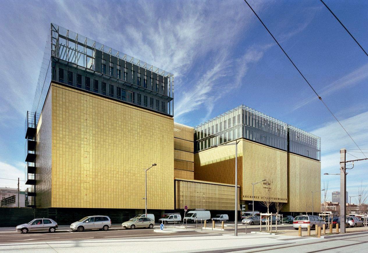 Archives du Rhône - Lione, Francia Gautier+Conquet architectes et paysagistes