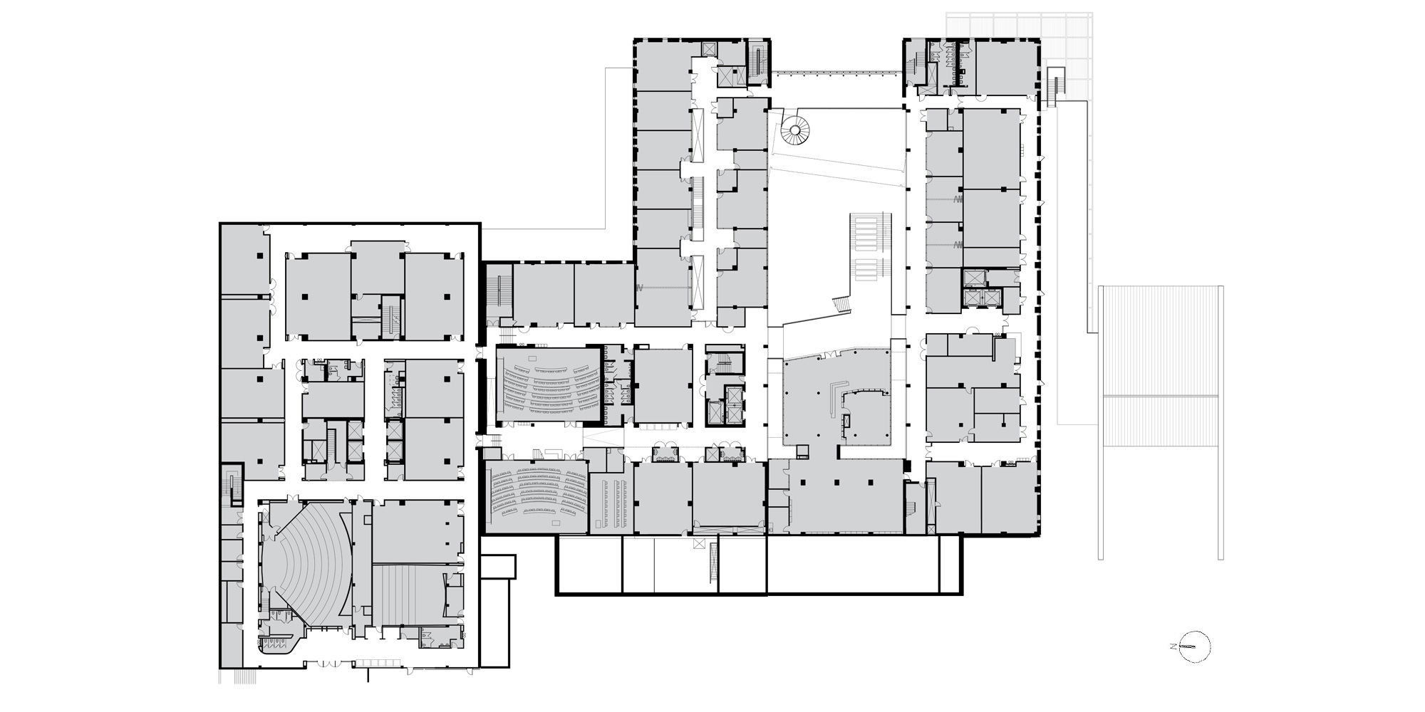 Level 1 plan © Ennead Architects
