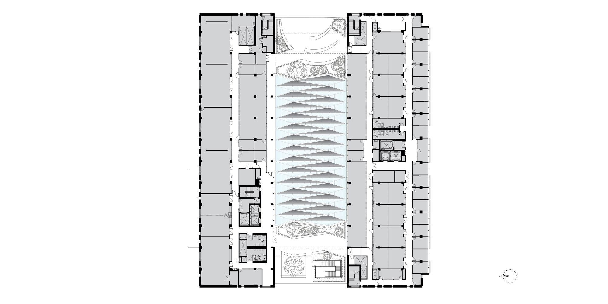 Level 3 plan © Ennead Architects