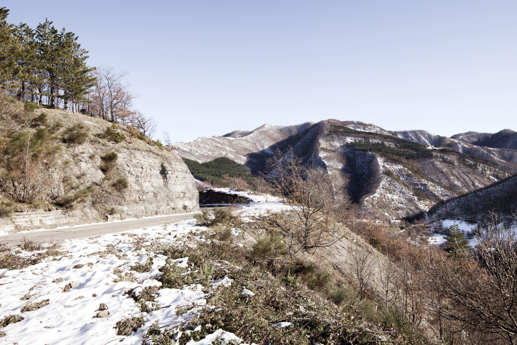 Appennino Tosco-Emiliano: strada tra Santa Sofia e Campigna © Urban Reports
