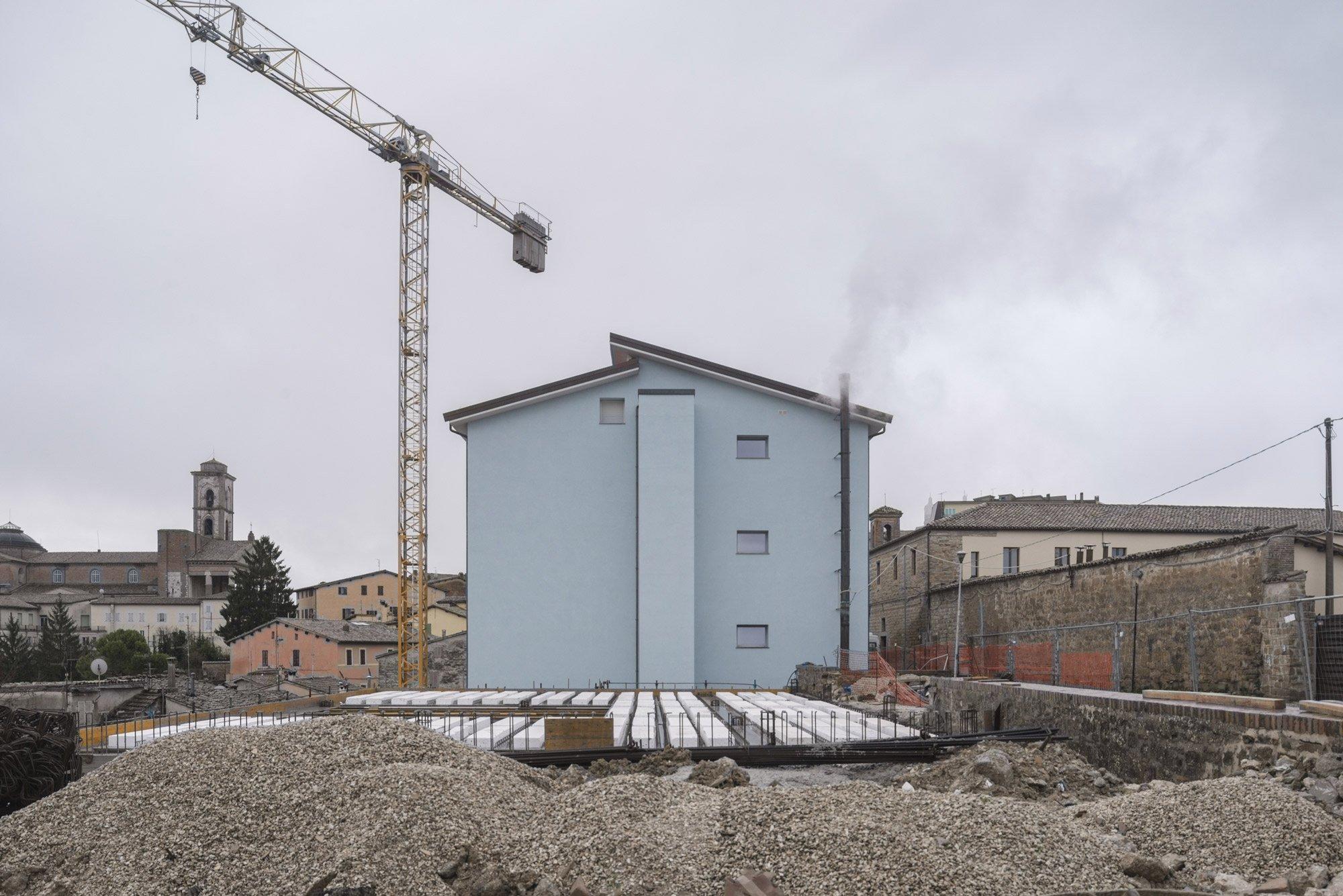 Camerino: a new school © Urban Reports