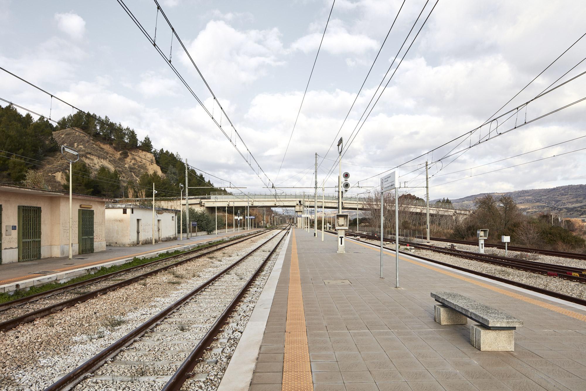 Collina Materana: stazione di Ferradina Scalo © Urban Reports