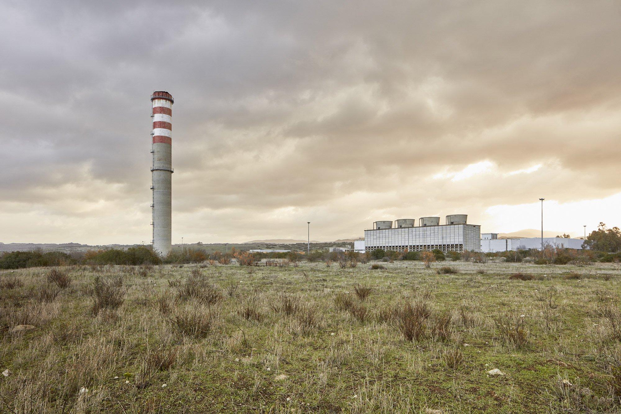 Barbagia: comparto industriale dismesso di Ottana © Urban Reports