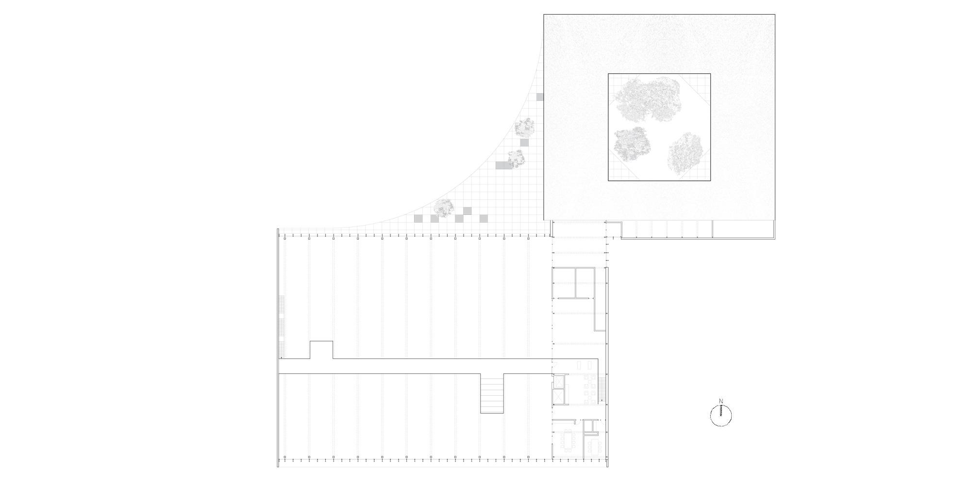 Second floor plan © Barkow Leibinger