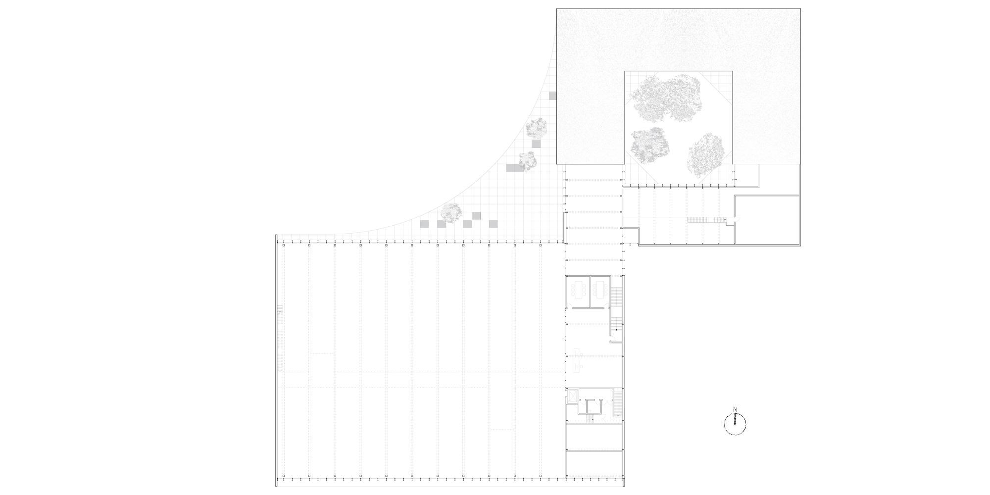 First floor plan © Barkow Leibinger