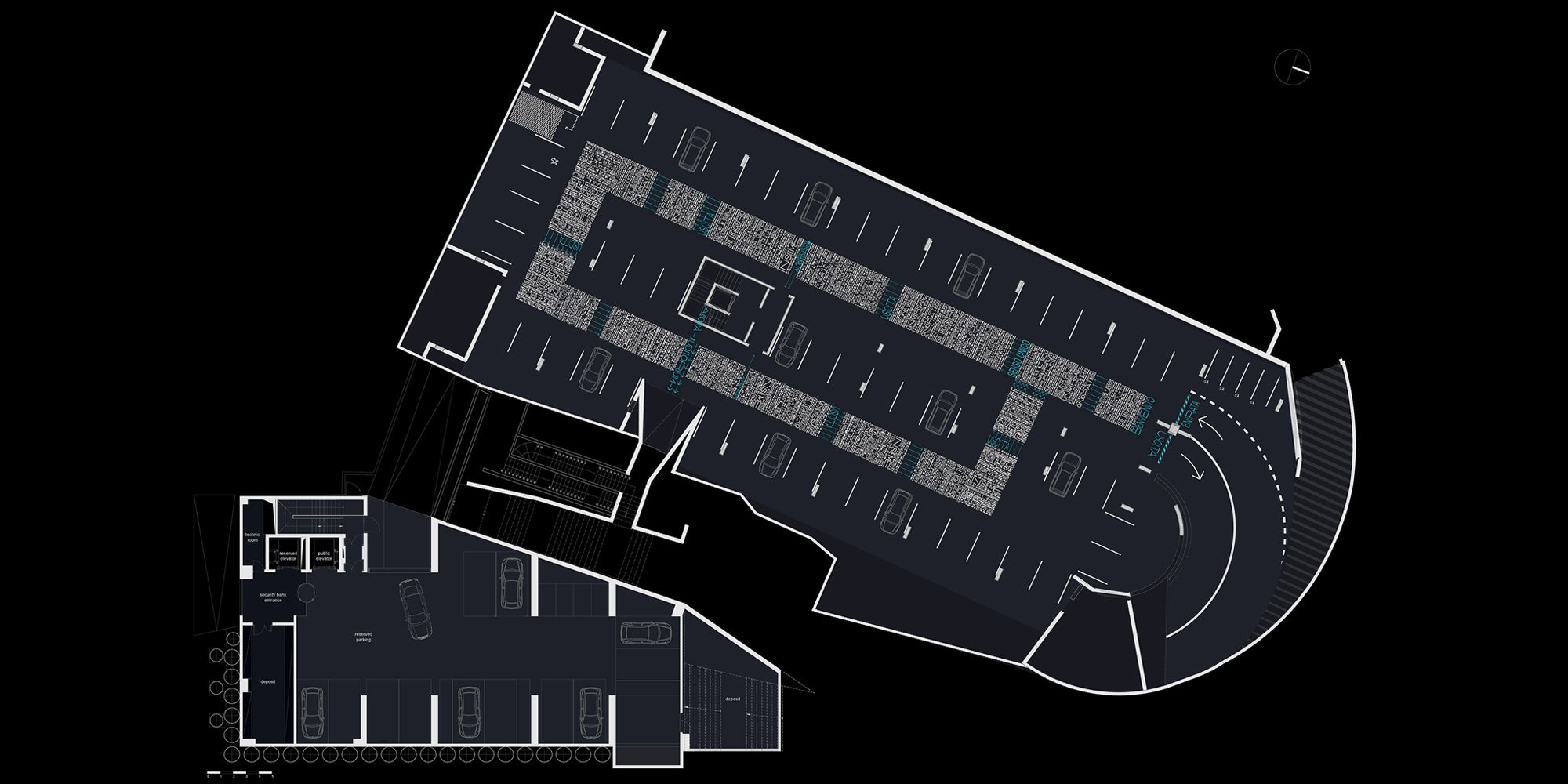 -1 floor plan © archiNOW!