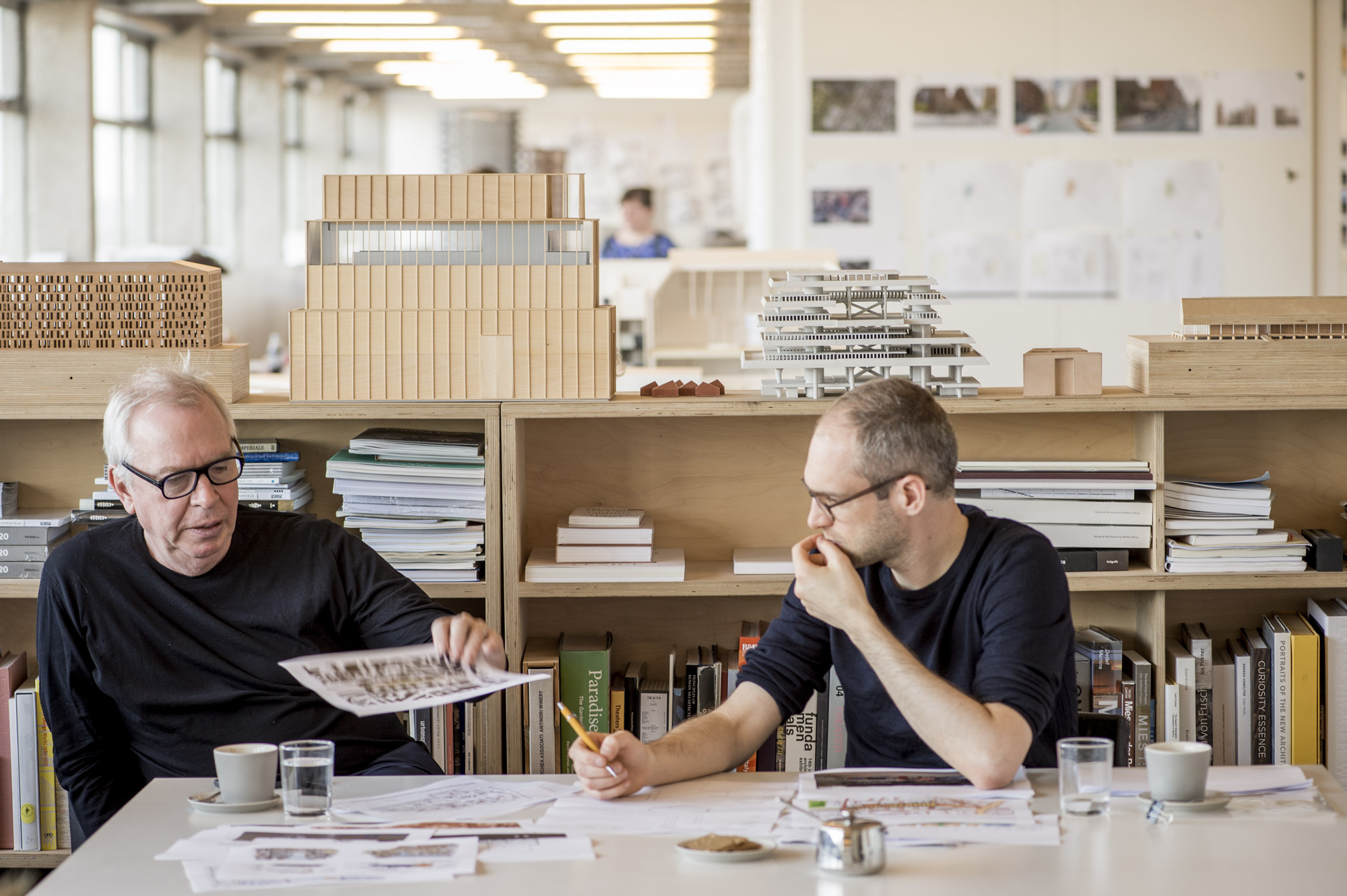 Rolex Mentor &Protégé Sir David Chipperfield, Rolex Mentor 2016‑2017 in Architecture in 2016-2017 with his Protégé