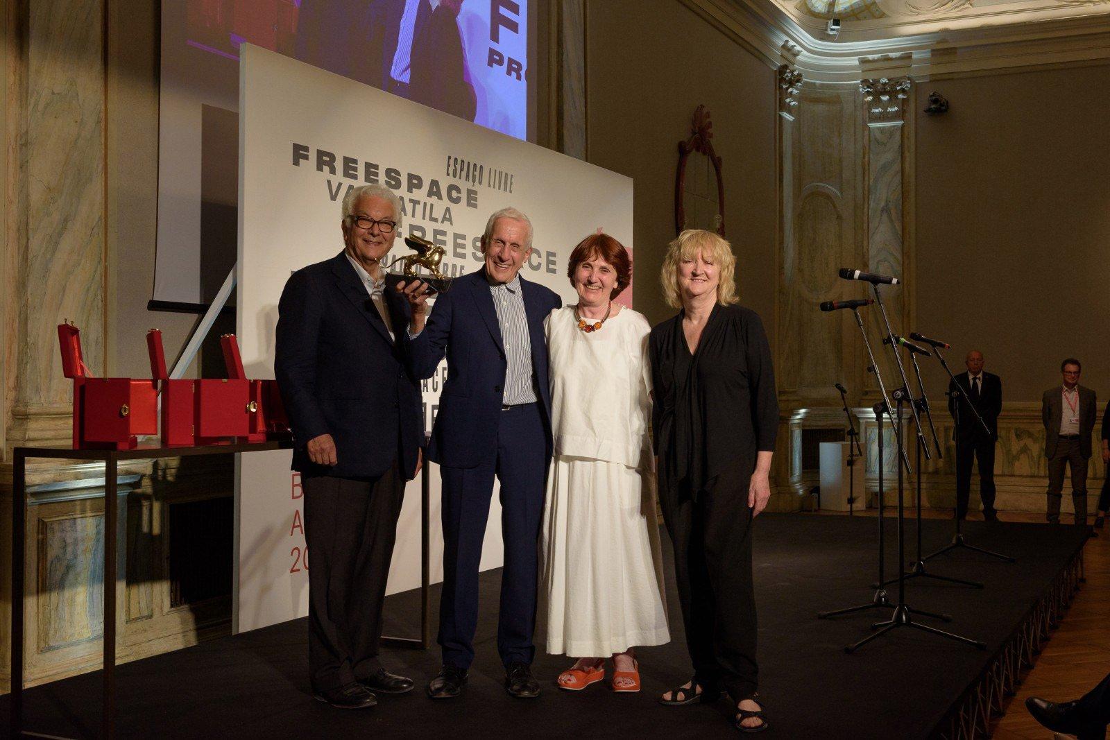 Cerimonia di premiazione - Kenneth Frampton © La Biennale di Venezia