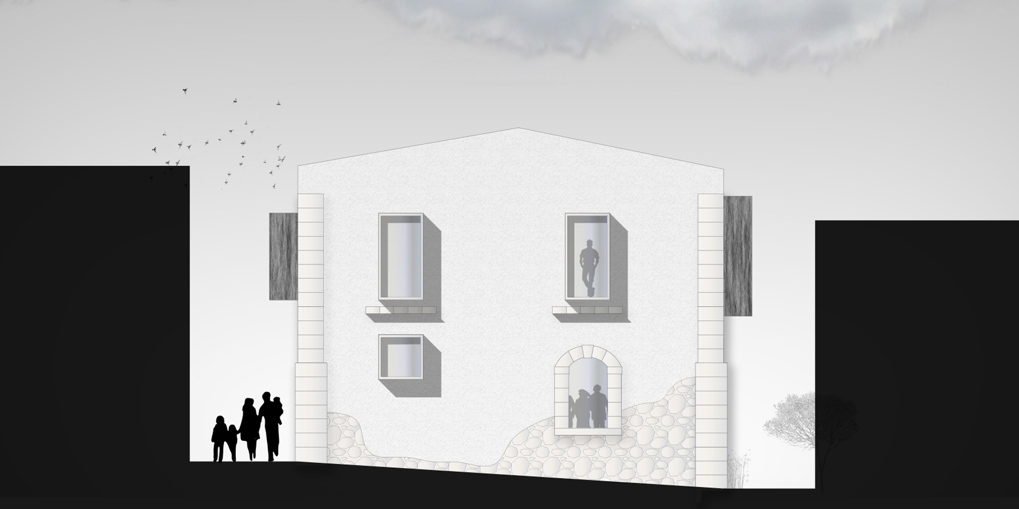 PROPSETTO DA VIA VITTORIO EMANUELE © Lillo Giglia Architect
