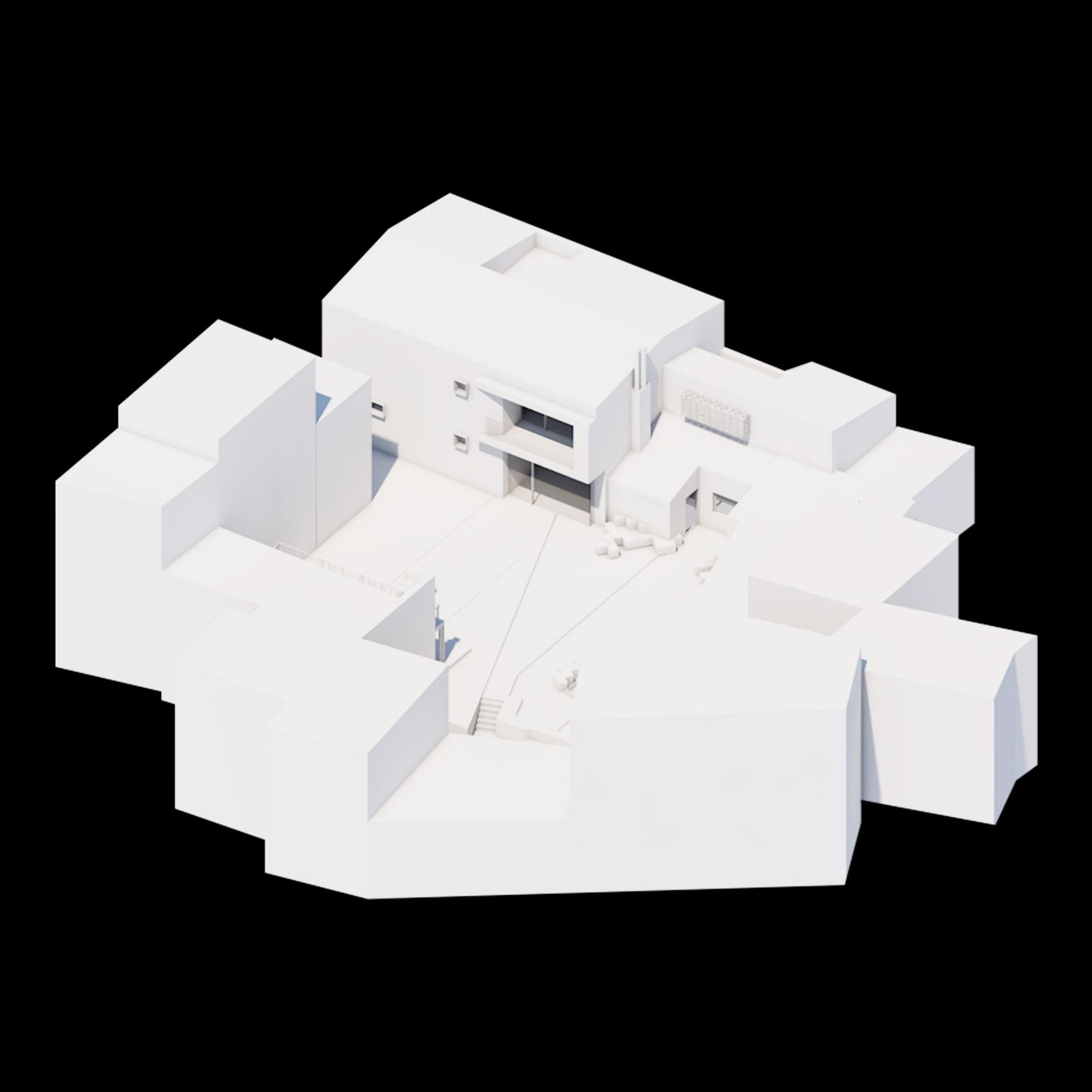 FOTO DEL PLASTICO © Lillo Giglia Architect