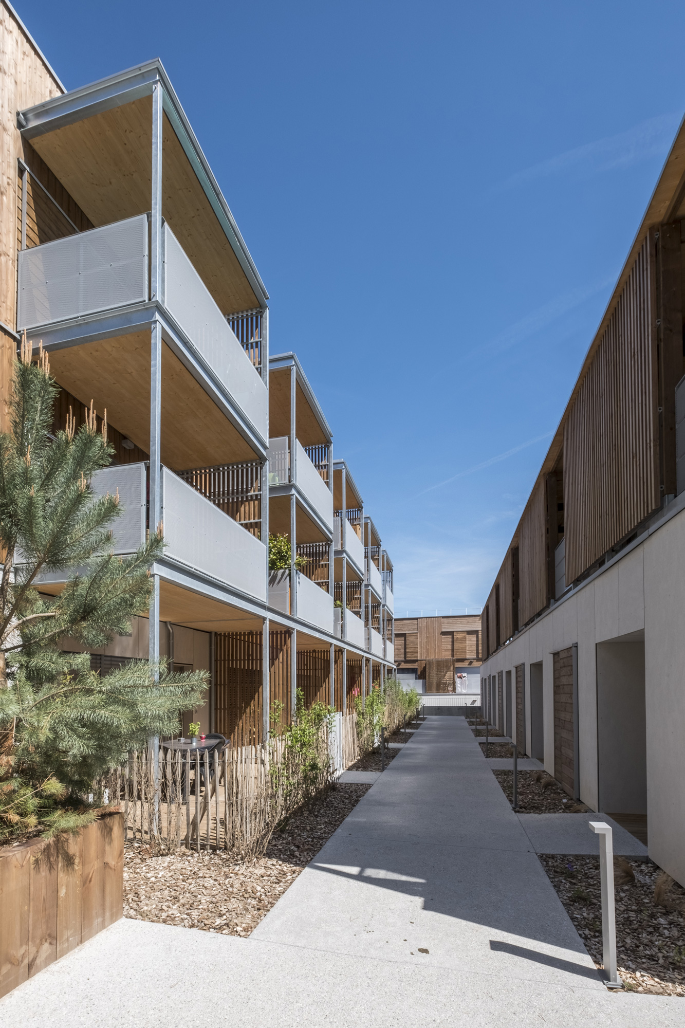 65 apartments in the Seyssins eco-neighborhood