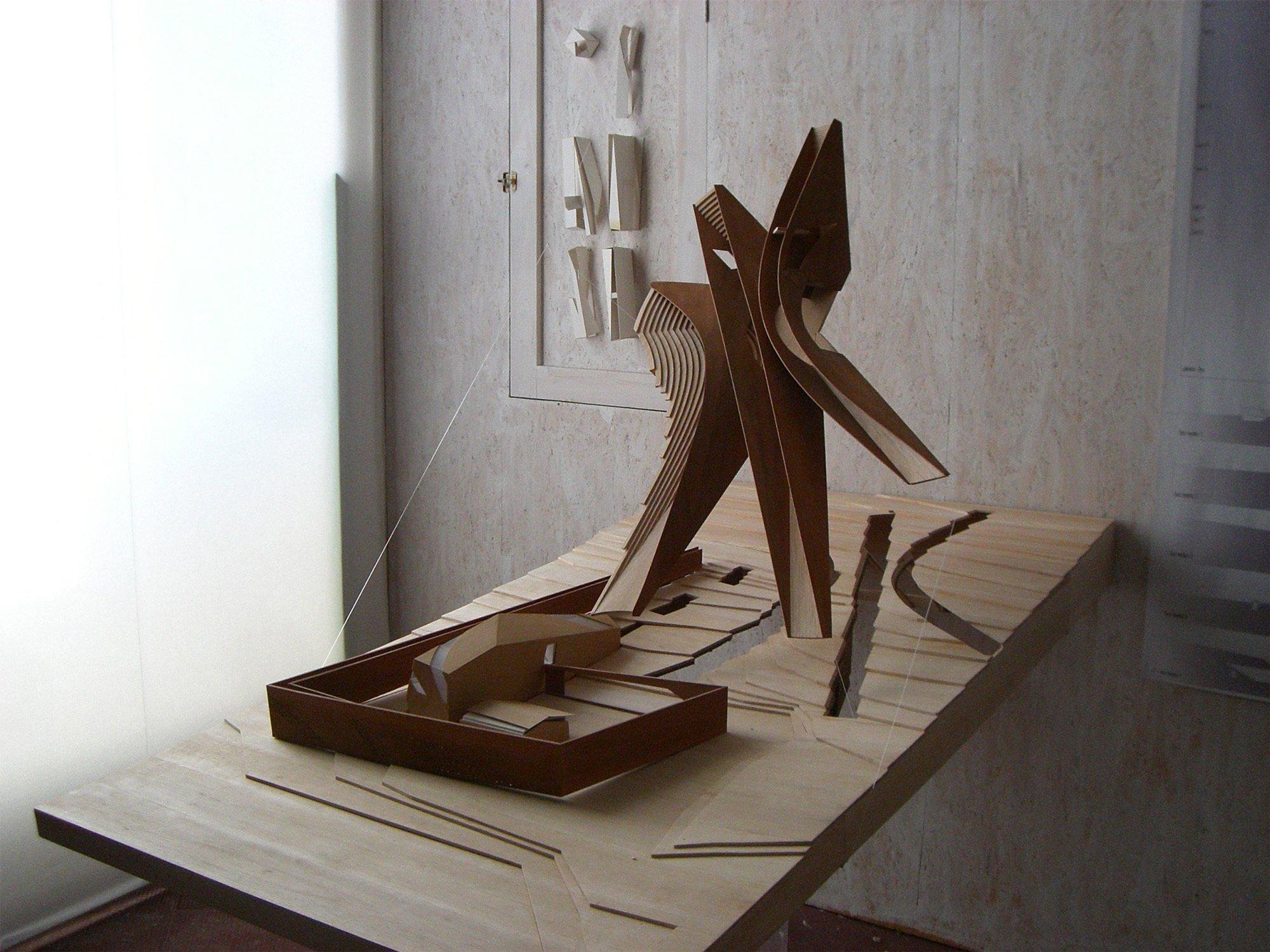 STUDY MODEL © LABORATORIO DI ARCHITETTURA