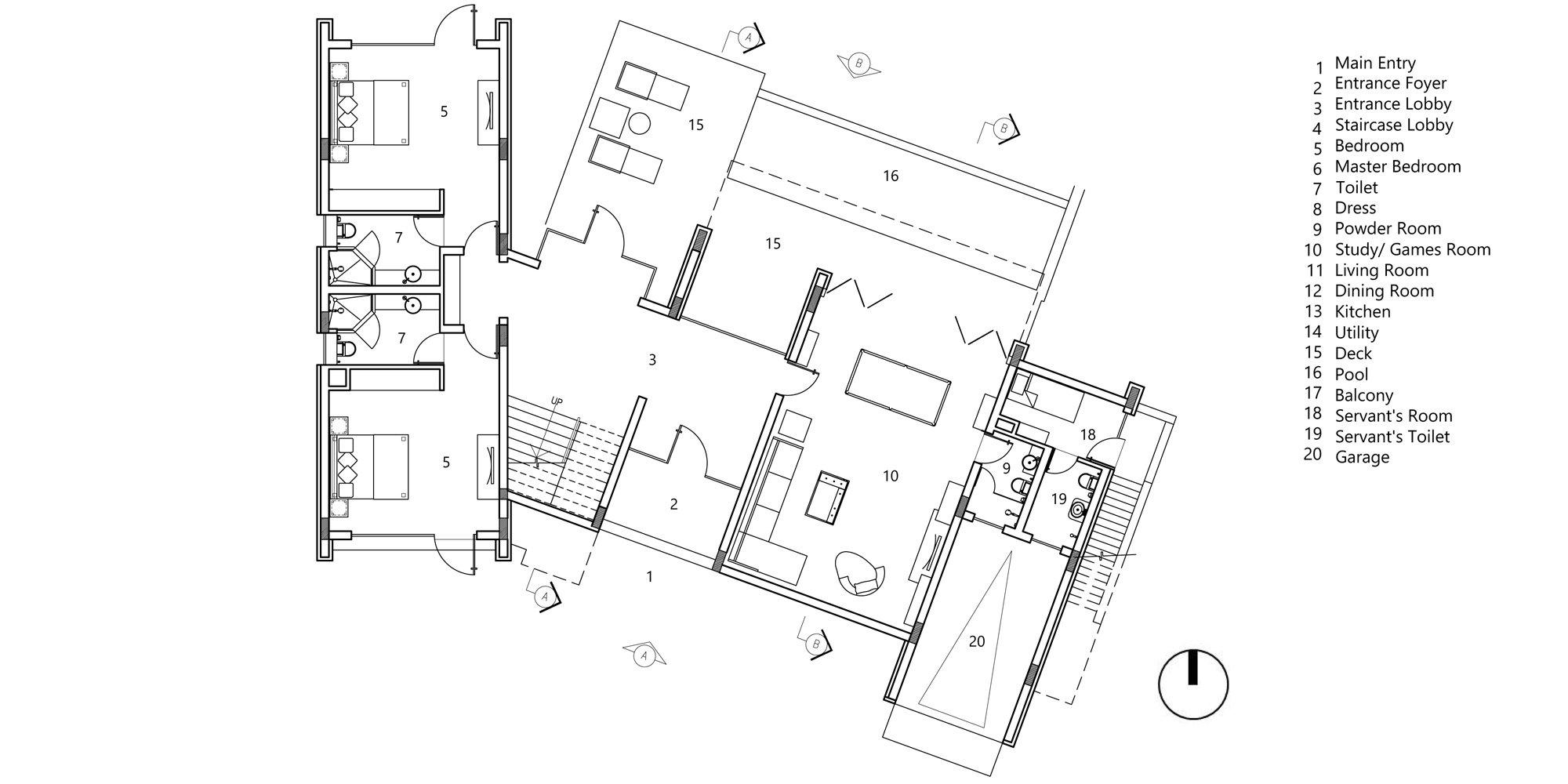 First floor plan © Morphogenesis
