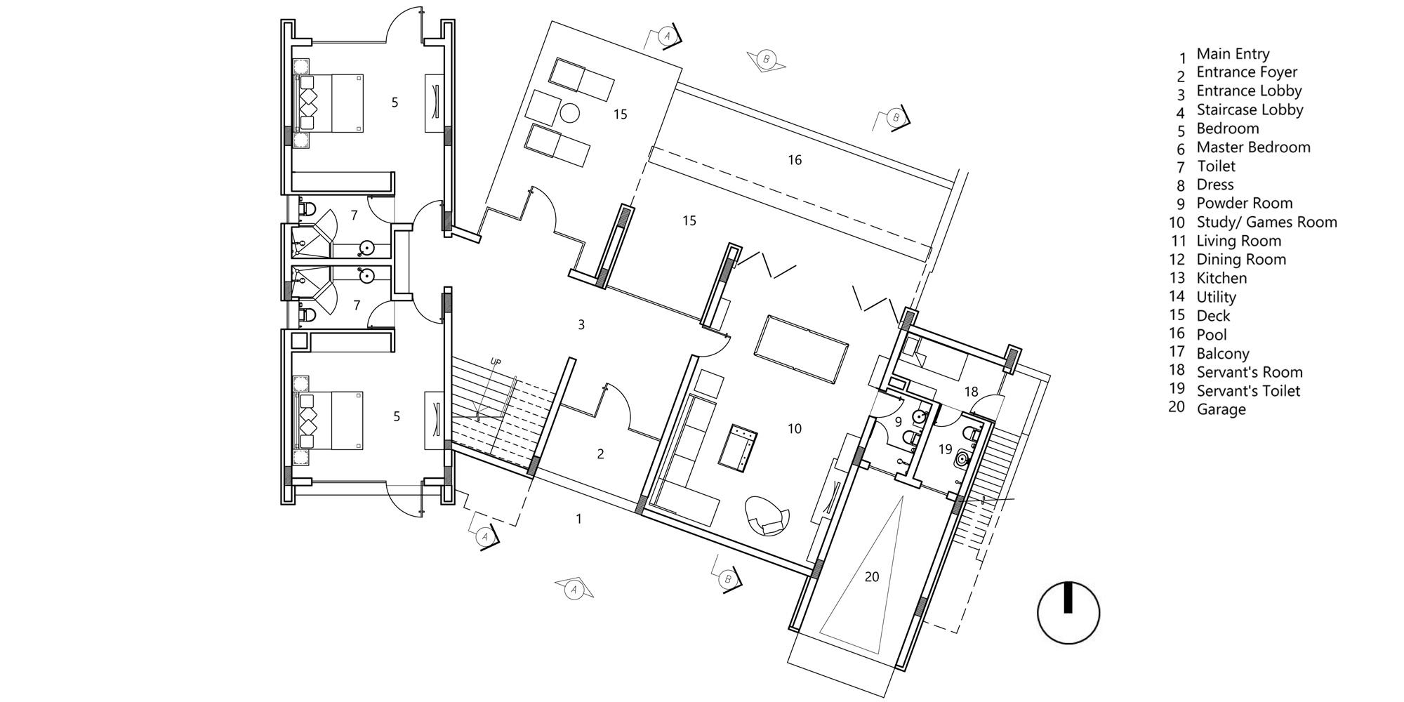 Ground floor plan © Morphogenesis