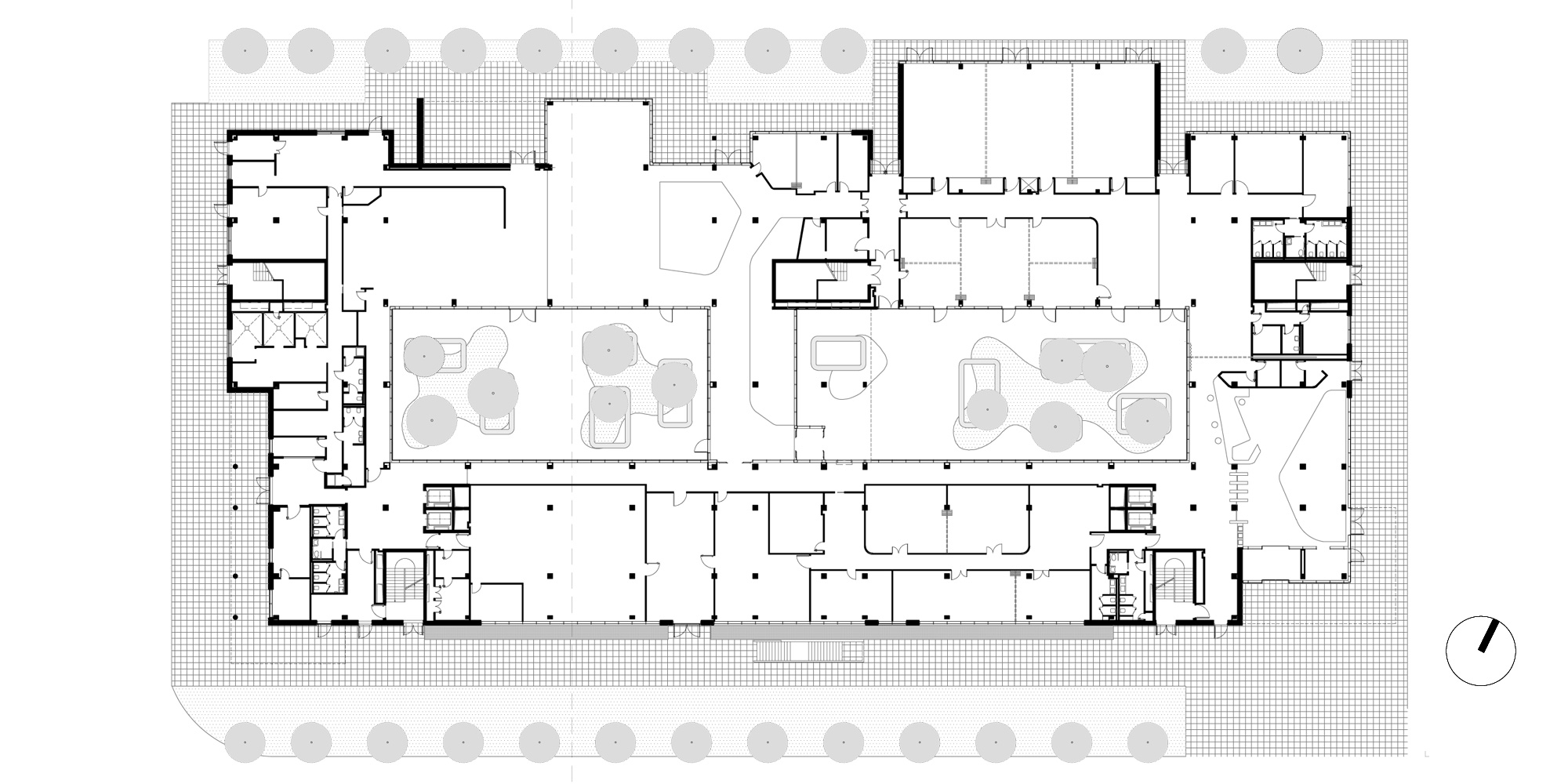 Ground floor plan © Barreca & La Varra